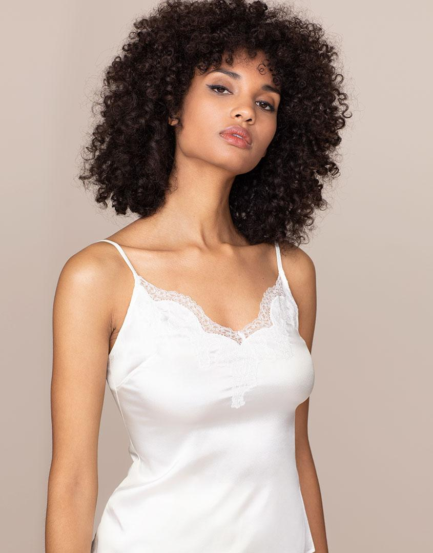 9ad0861a48 Agent Provocateur Amelea Camisole Ivory in White - Lyst