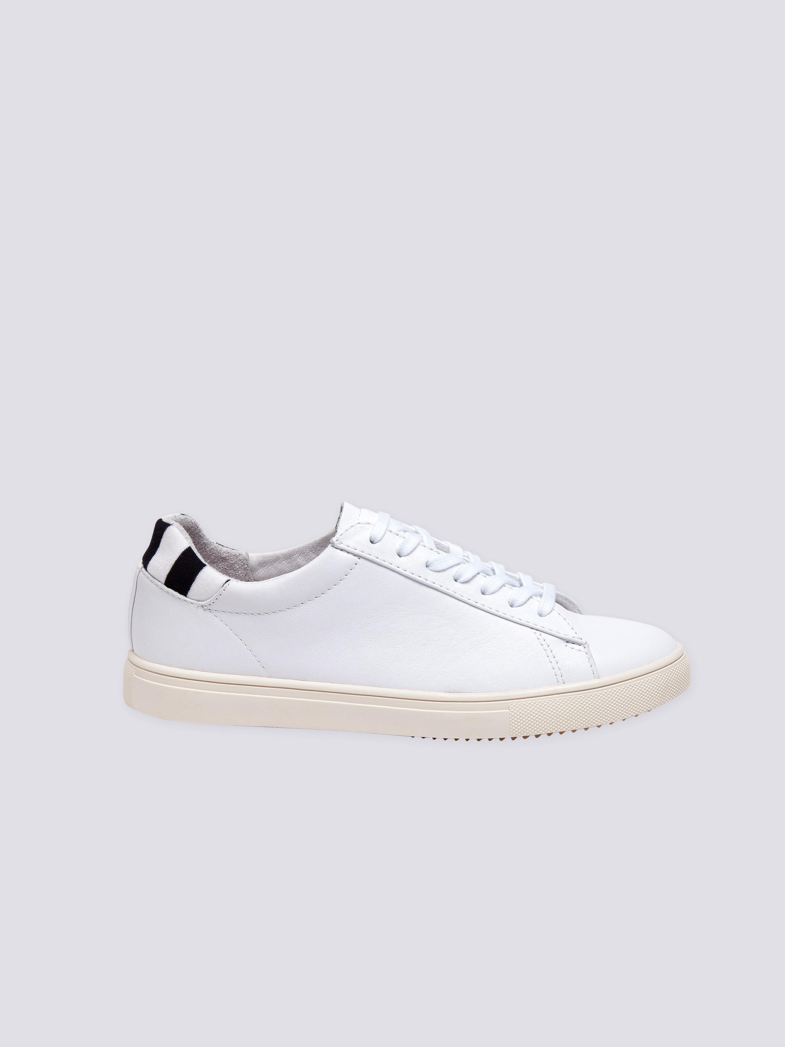 agnès b. Leather White Clae Sneakers