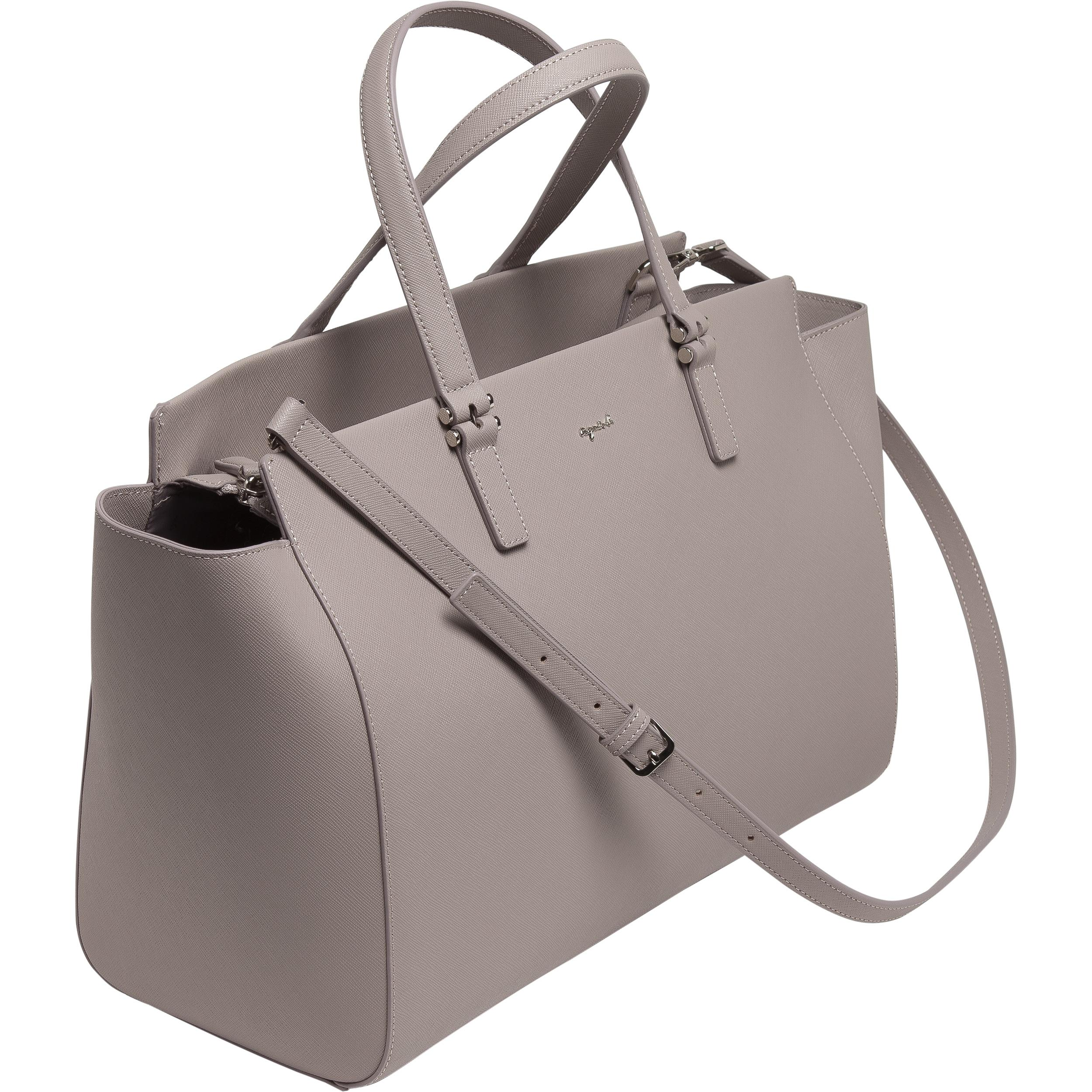 agnès b. Brown Leather Tote Bag