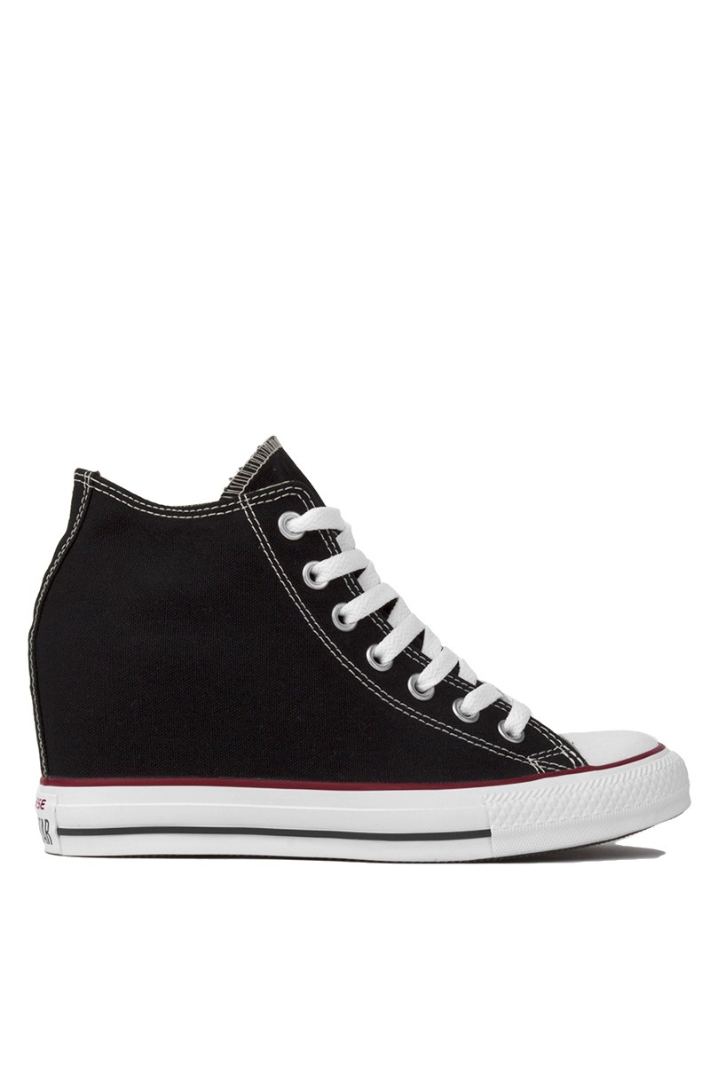 Converse Chuck Taylor All Star Lux Mid Top Sneaker Wedge ...