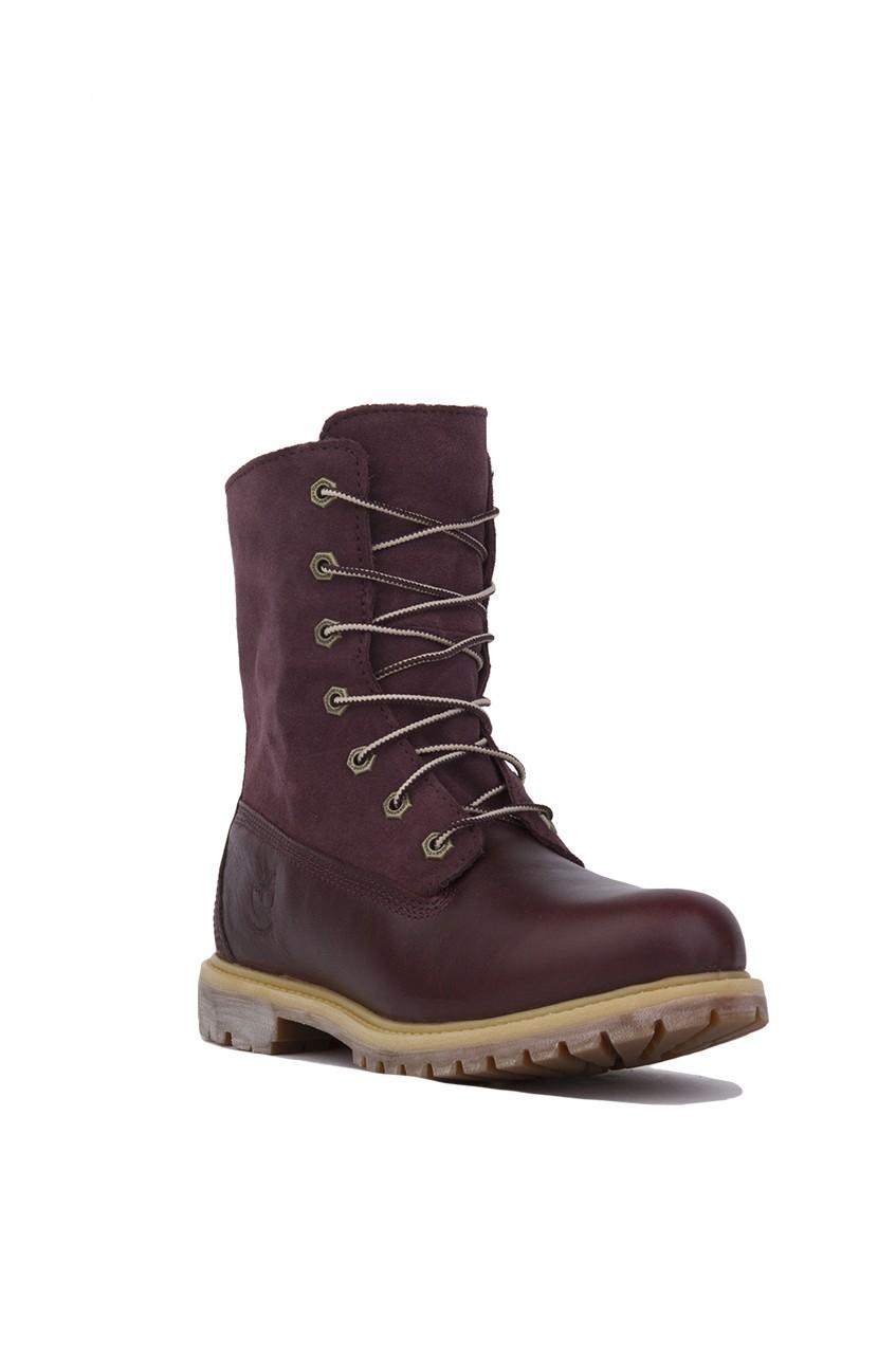Timberland Women S Authentics Teddy Fleece Fold Down Boot