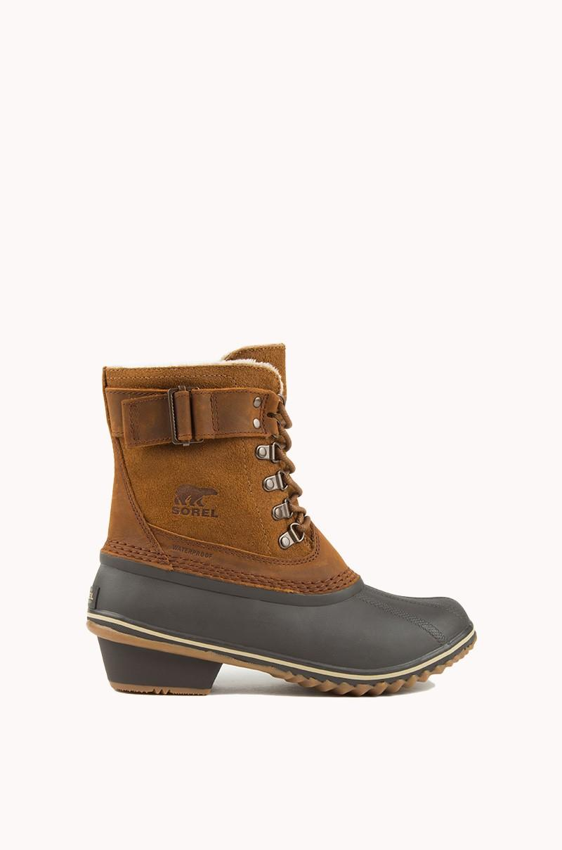 Lyst Sorel Winter Fancy Lace Ii Boot In Brown