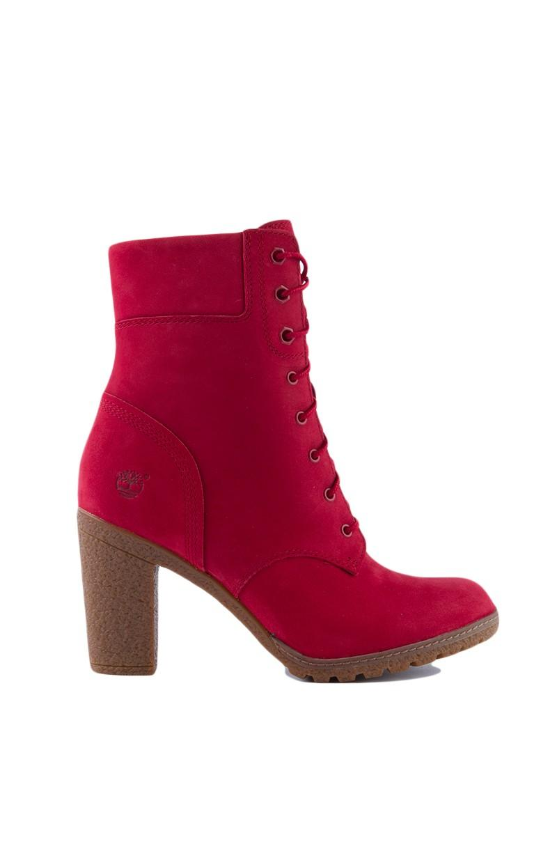 Timberland Glancy 6 Inch Boots in Red | Lyst