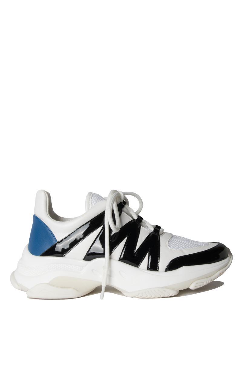 254c6eecb31 Steve Madden - Maximus Lace Up Sneaker White Multi - Lyst. View fullscreen