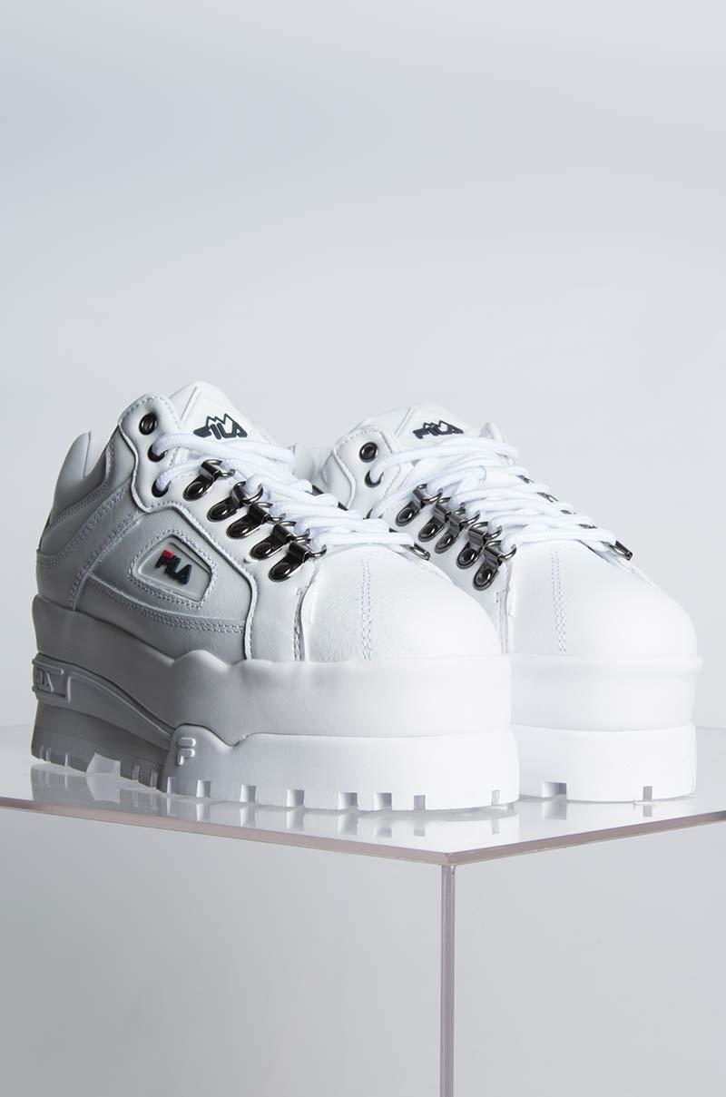Fila Leather Trailblazer Wedge White