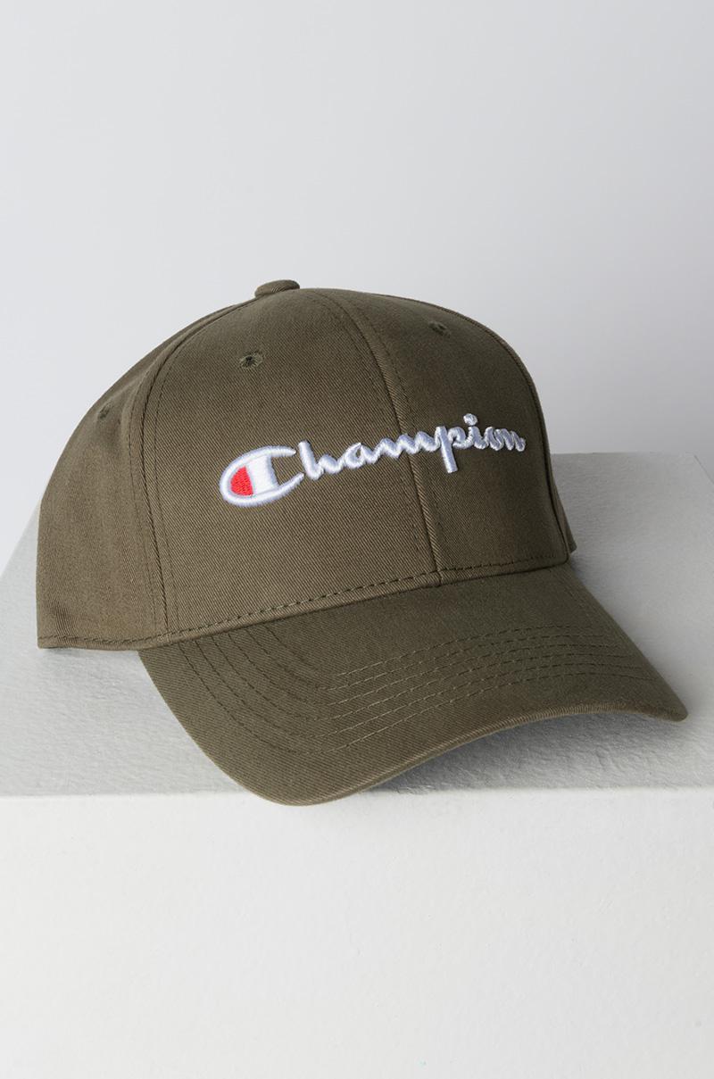 Champion Classic Twill Hat in Green for Men - Lyst 2c718dbc752