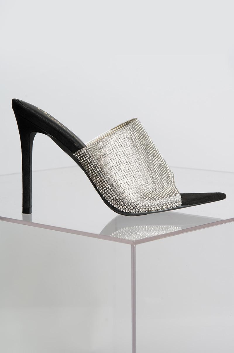 Diamond Heels Stiletto Rosaer Glitzer Stiletto Heels