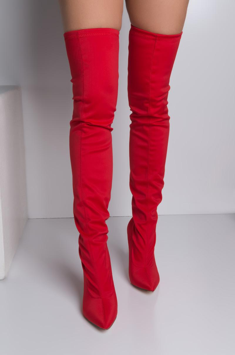 Tight Thigh High Boots