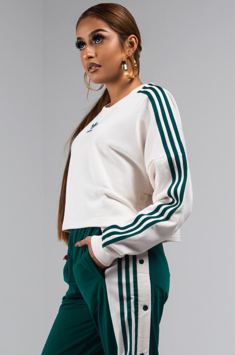 adidas Denim Adibreak Cropped Sweater