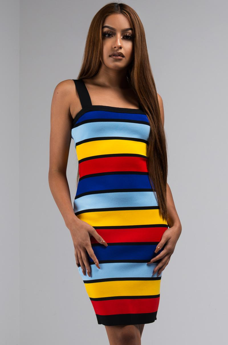 33fa0161ee45 Lyst - AKIRA Nice For What Bodycon Mini Dress in Black