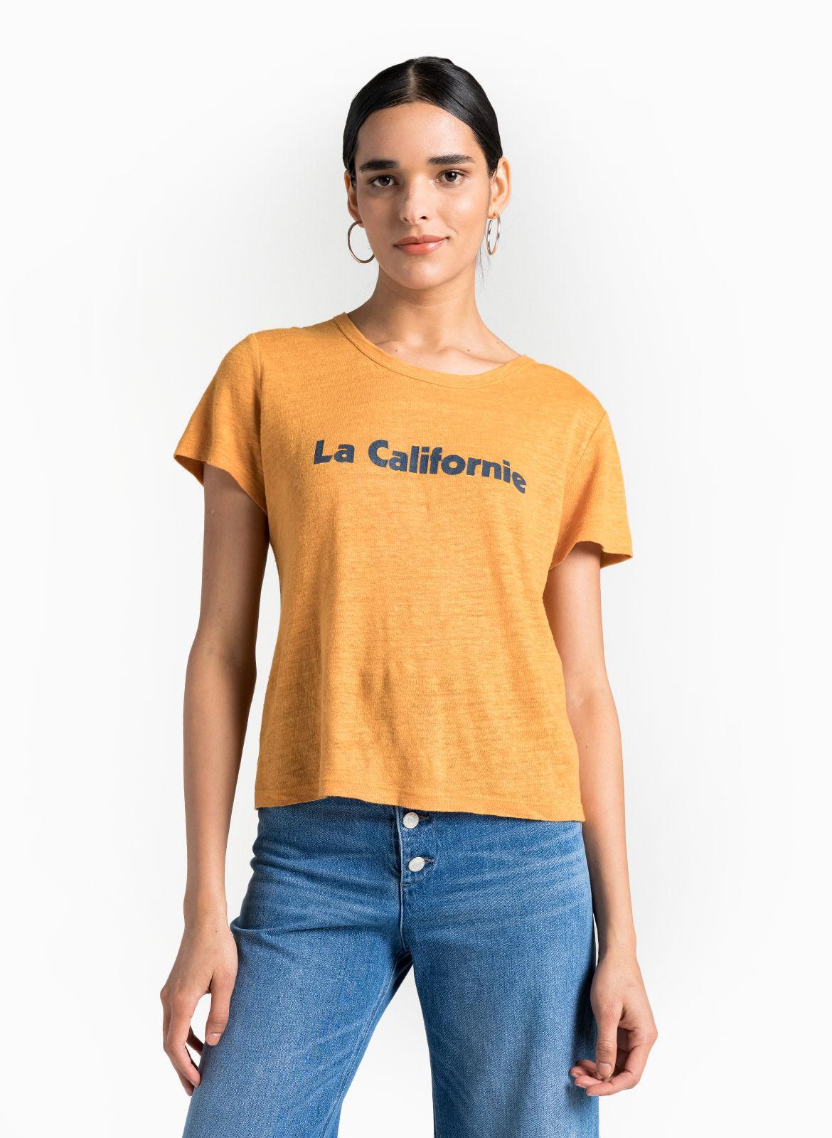 070a16b2b346 Lyst - A.L.C. La Californie Tee in Orange