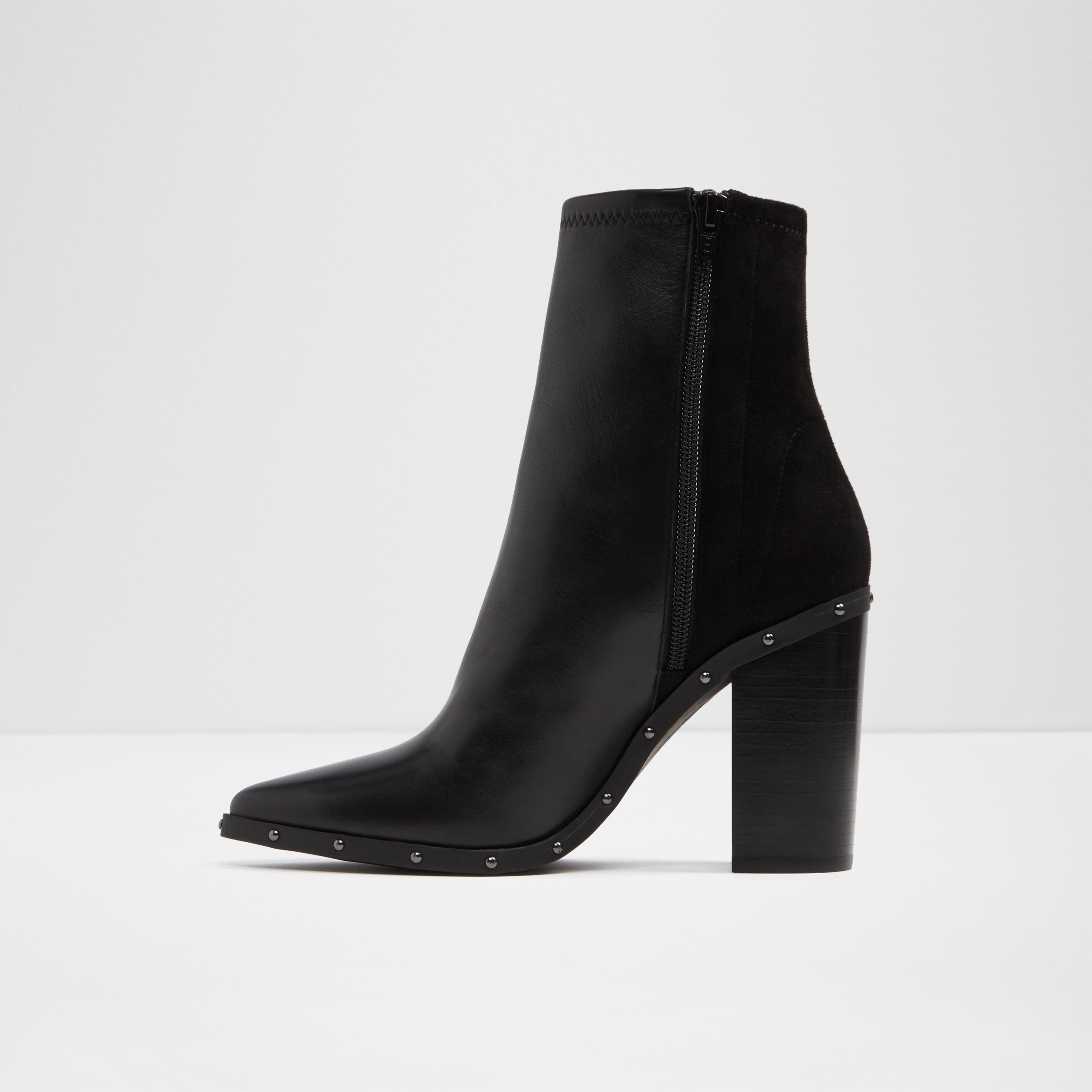 ALDO Leather Loviren in Black - Lyst