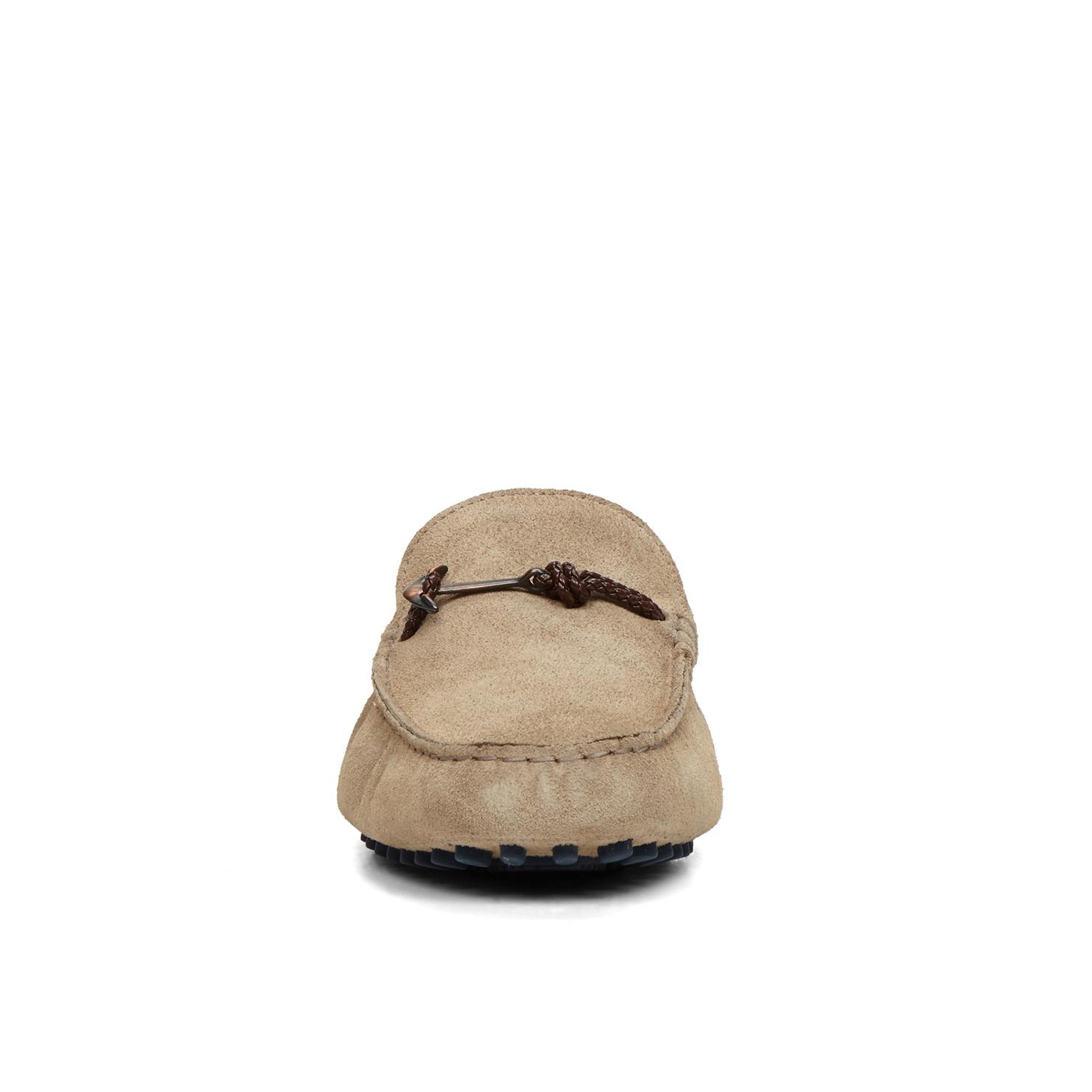 ALDO Leather Zurlo in Taupe (Brown) for Men