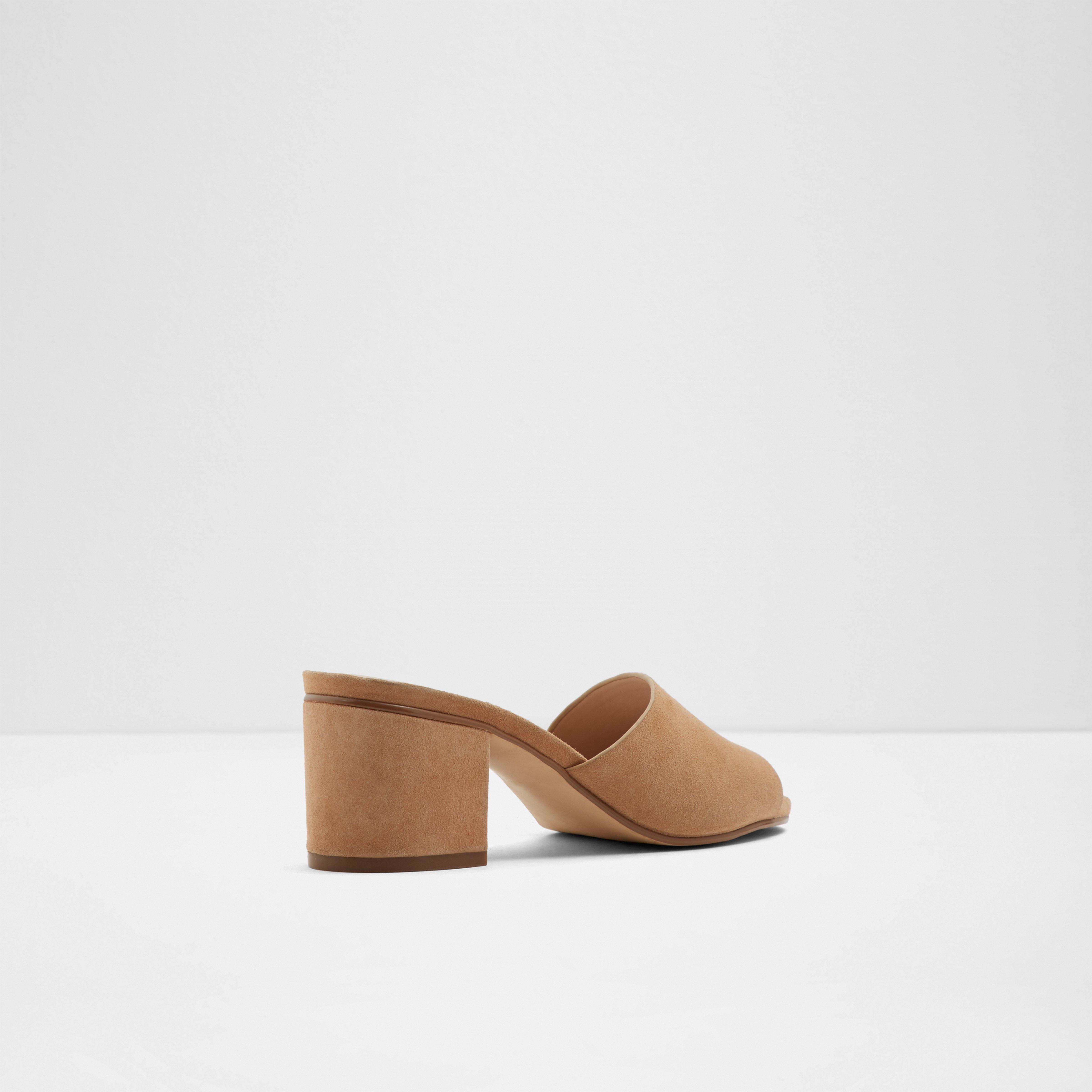 ALDO Leather Kedireclya Block Heel Mule