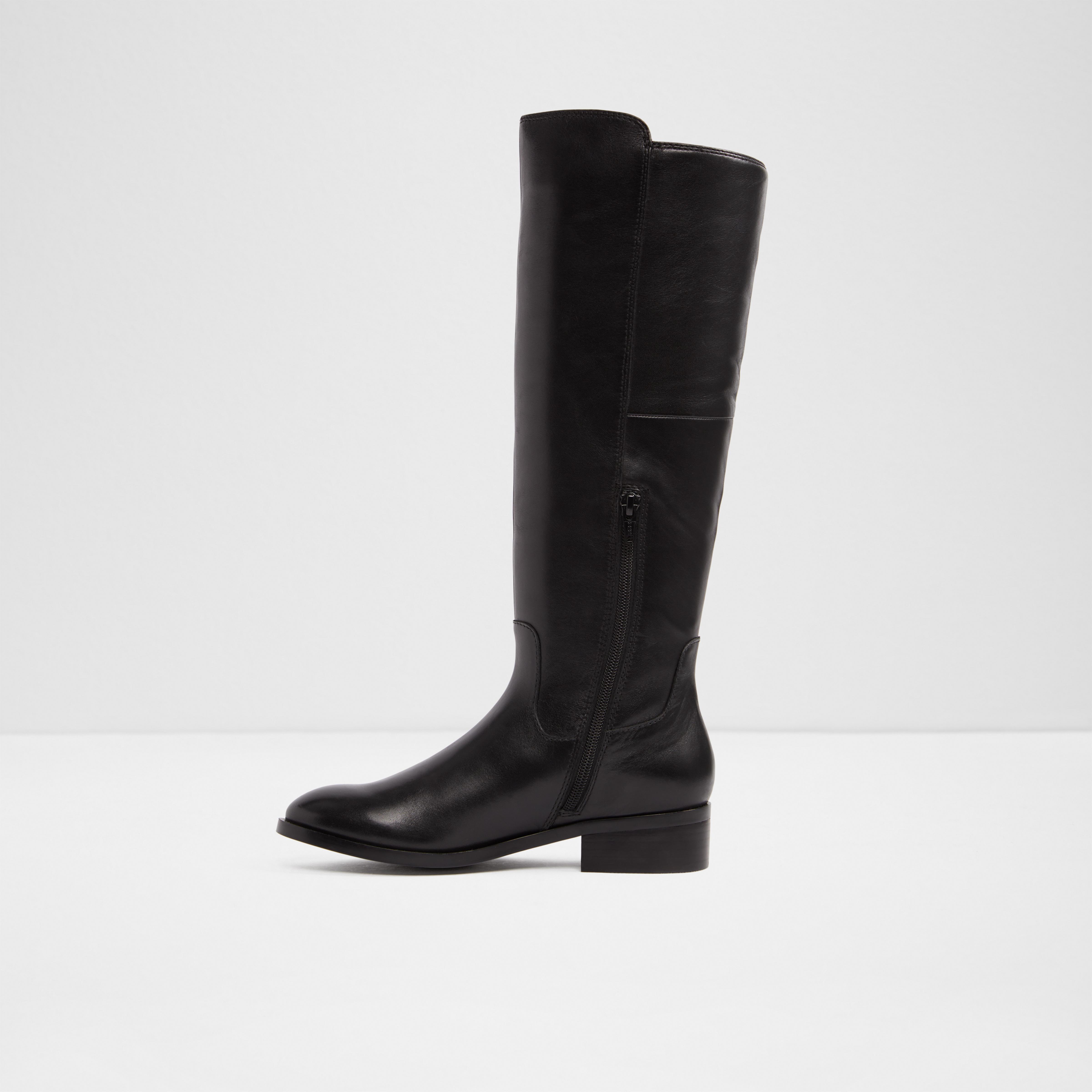 ALDO Leather Gaenna in Black - Lyst