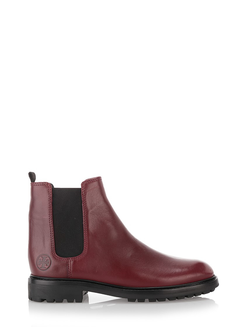 tory burch classic chelsea boots in red lyst. Black Bedroom Furniture Sets. Home Design Ideas