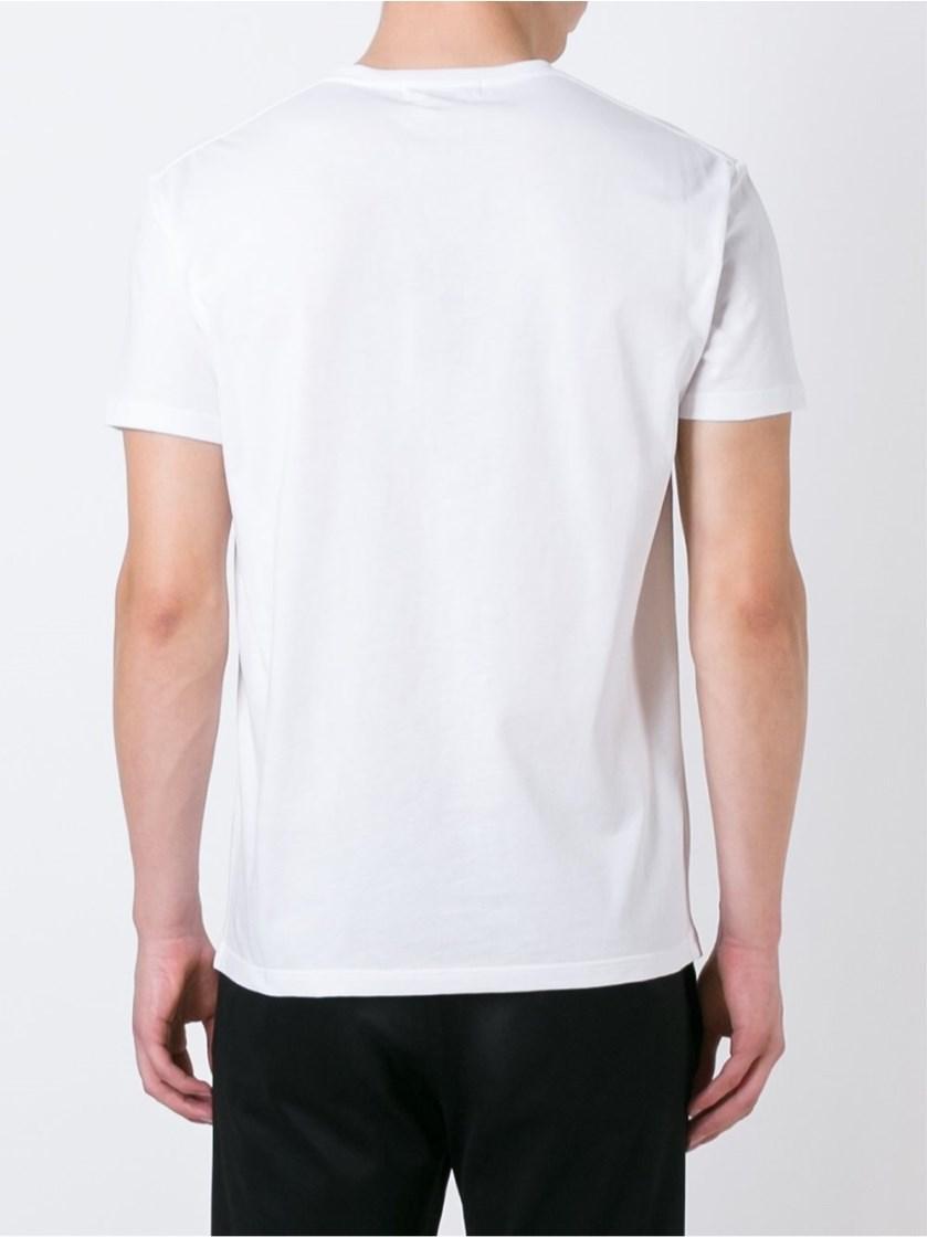 Alexander mcqueen skull and snake print t shirt men for T shirt printing mobile al
