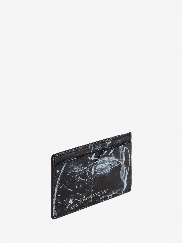 259aa58a8e Alexander McQueen Black John Deakin Card Holder for men