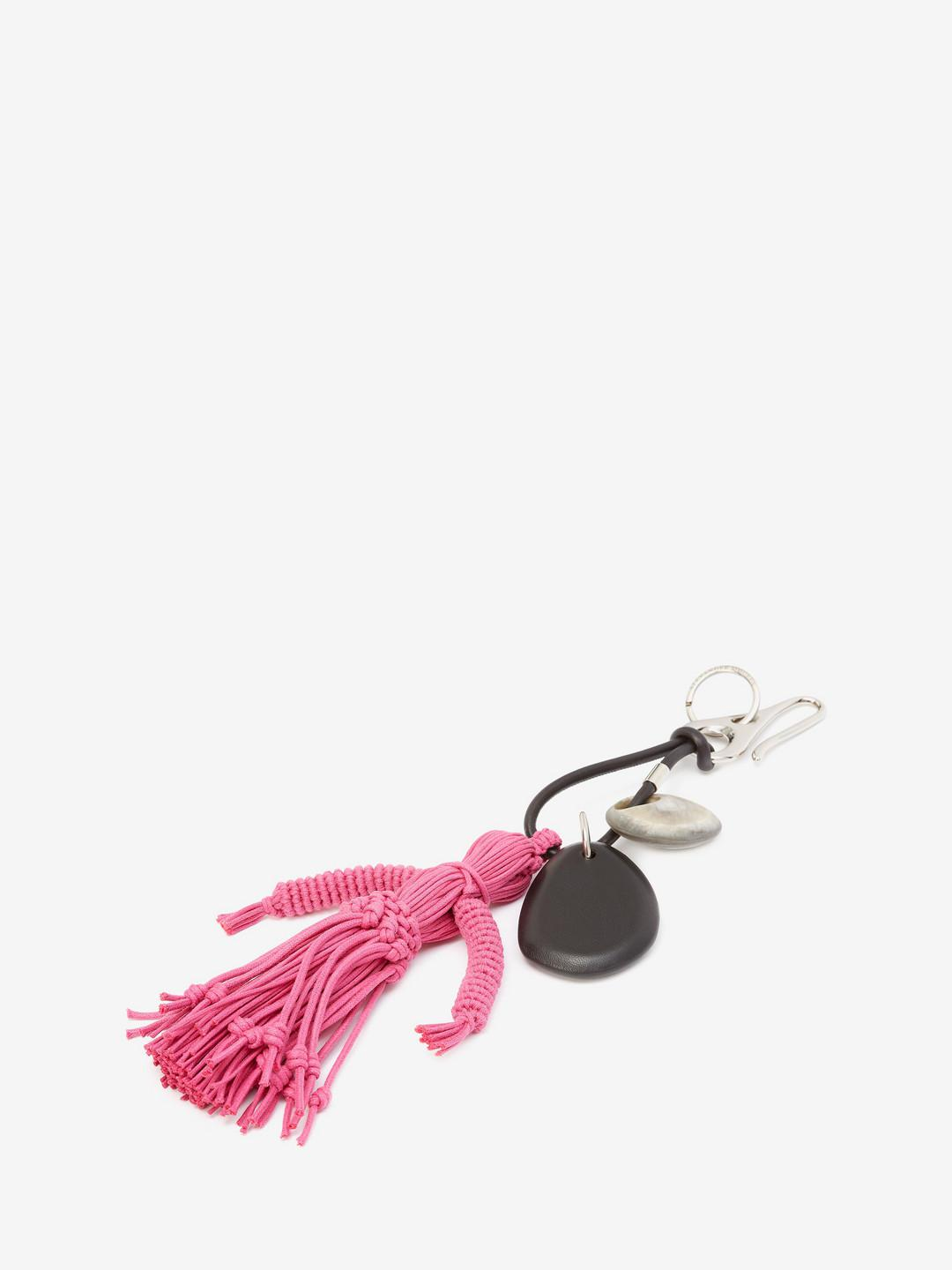 Alexander McQueen Leather Corn Dolly Bag Charm