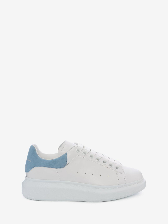 Alexander McQueen. Women's Blue Oversized Sneaker