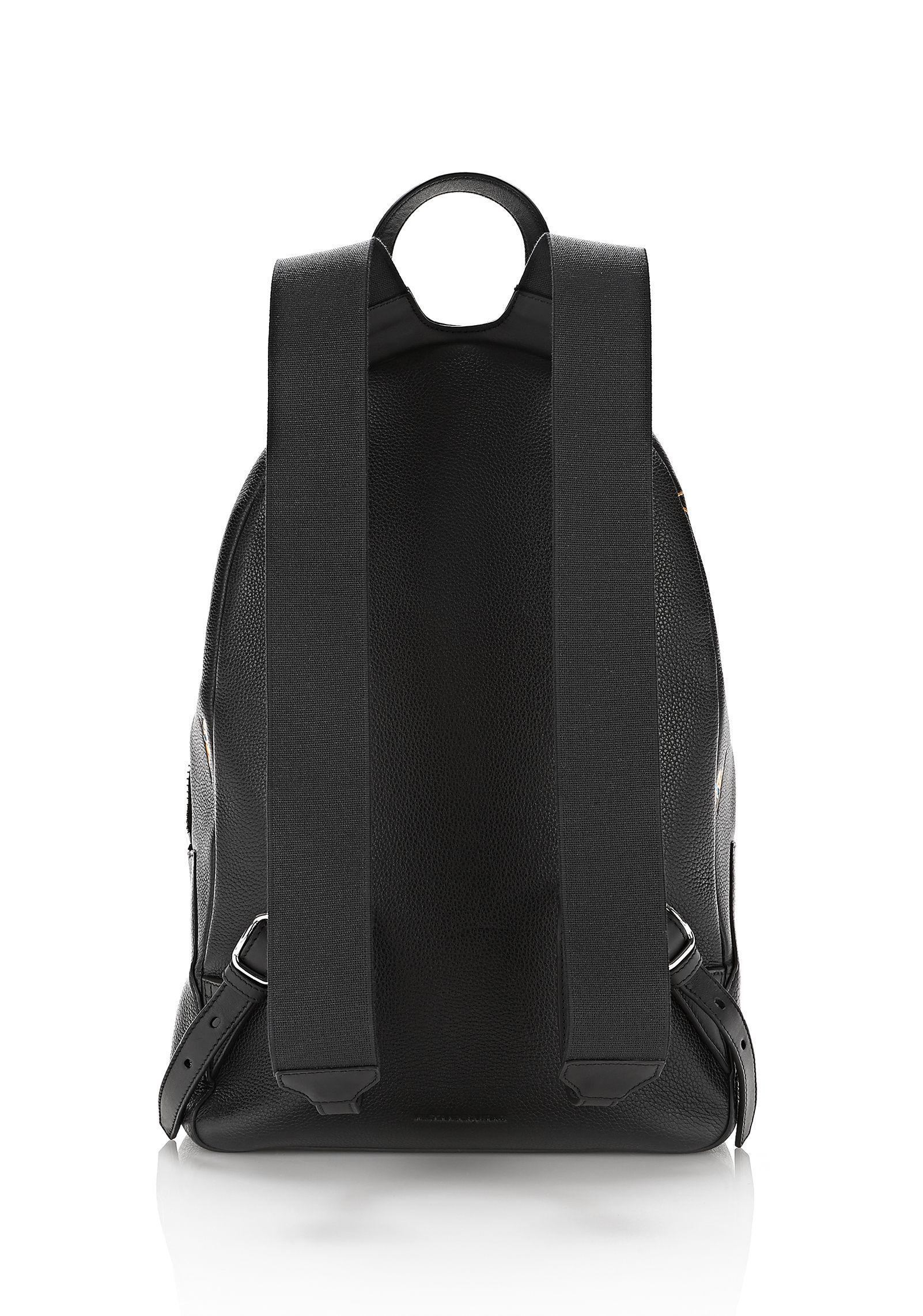 91e5a74e1eab Lyst - Alexander Wang Berkeley Backpack Pebbled Black With ...