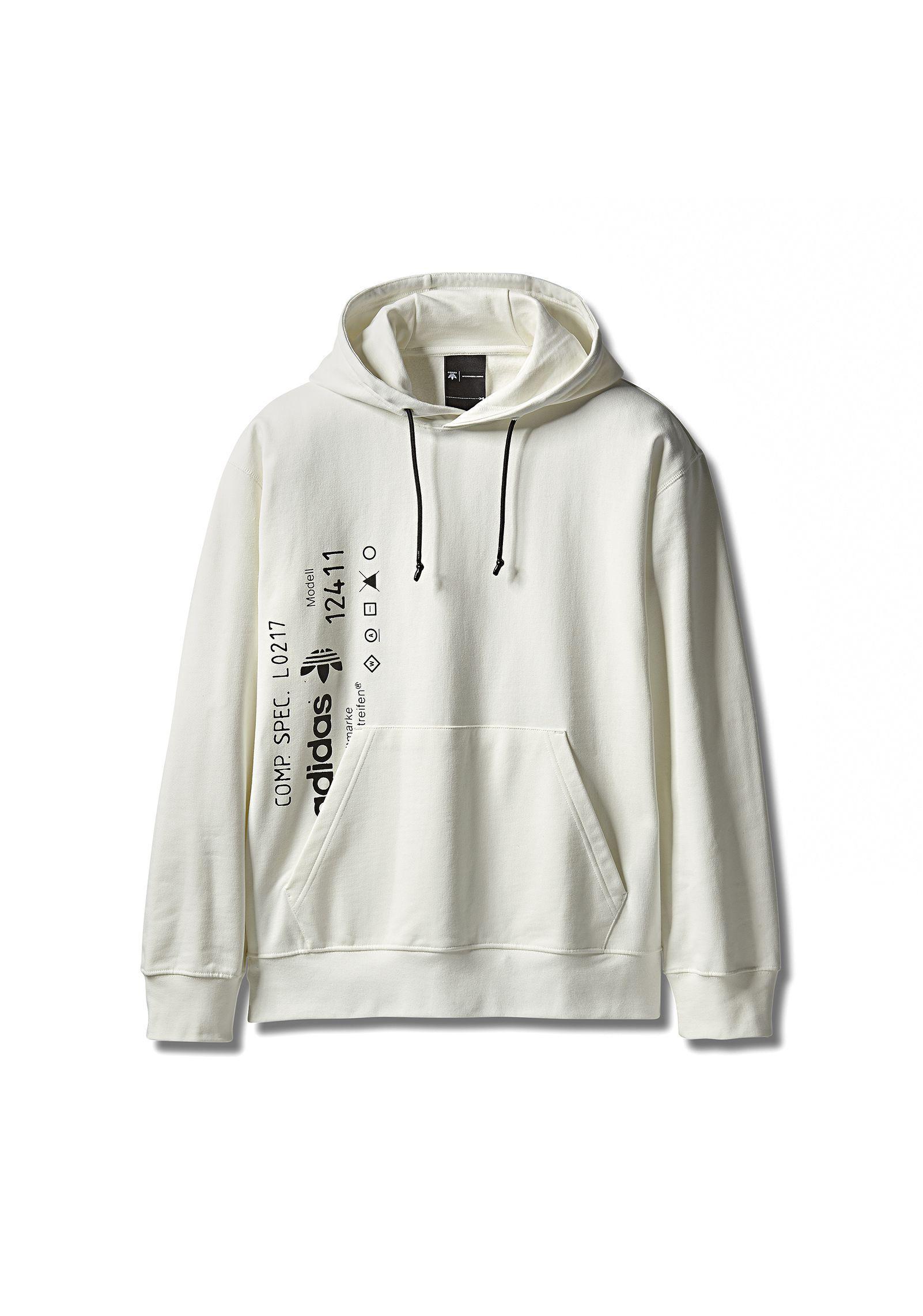Originals Adidas Wang Alexander Men Graphic For White Aw By Hoodie zMqpUSVG
