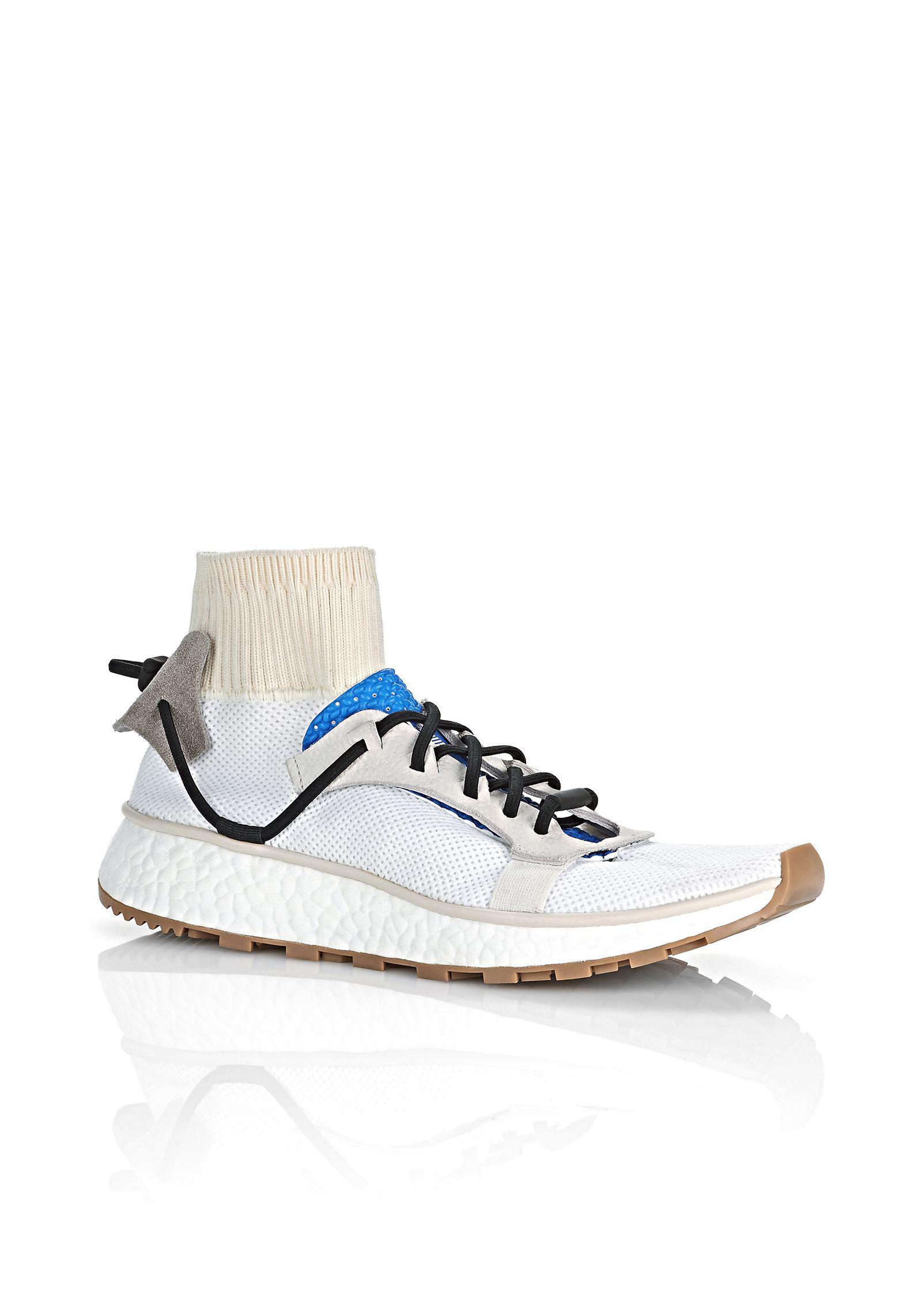 lyst alexander wang adidas originali da oh correre scarpe bianche