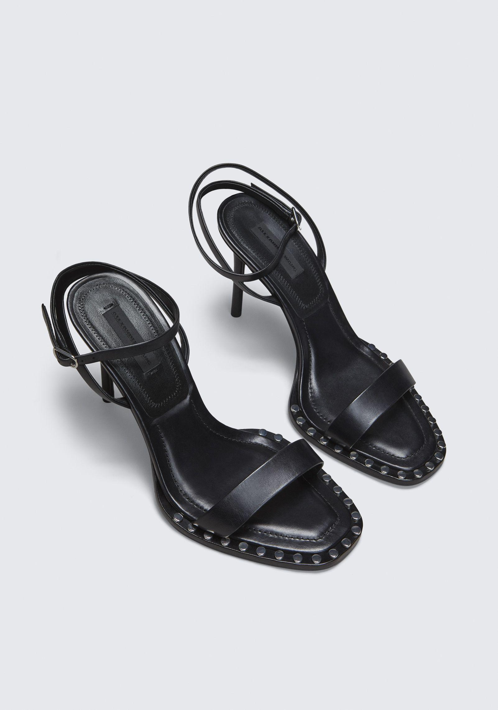 d69f3c774de Alexander Wang Black Cate High Heel Sandal