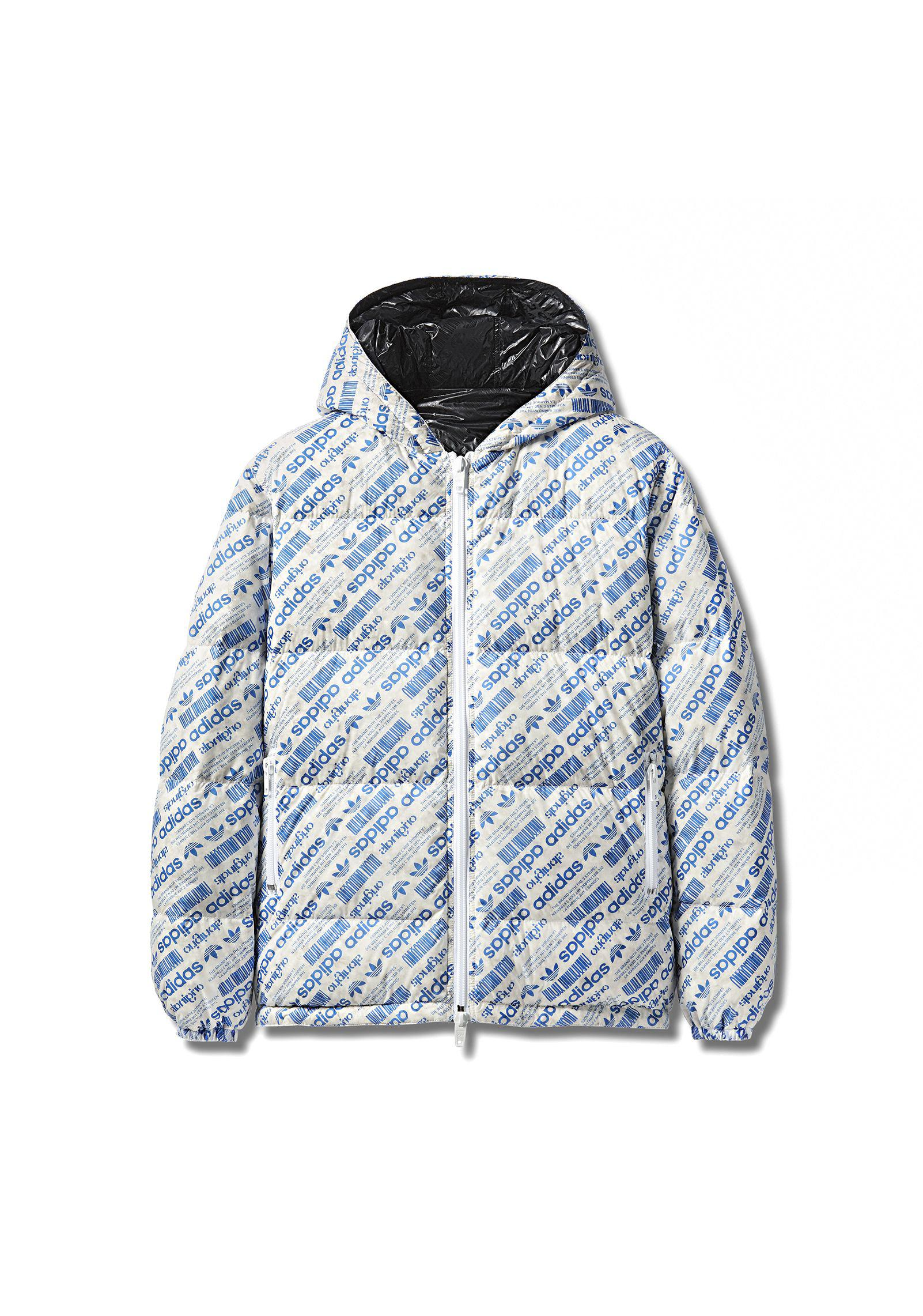 7ab5e56a22c Alexander Wang Adidas Originals By Aw Puffer in Gray - Lyst