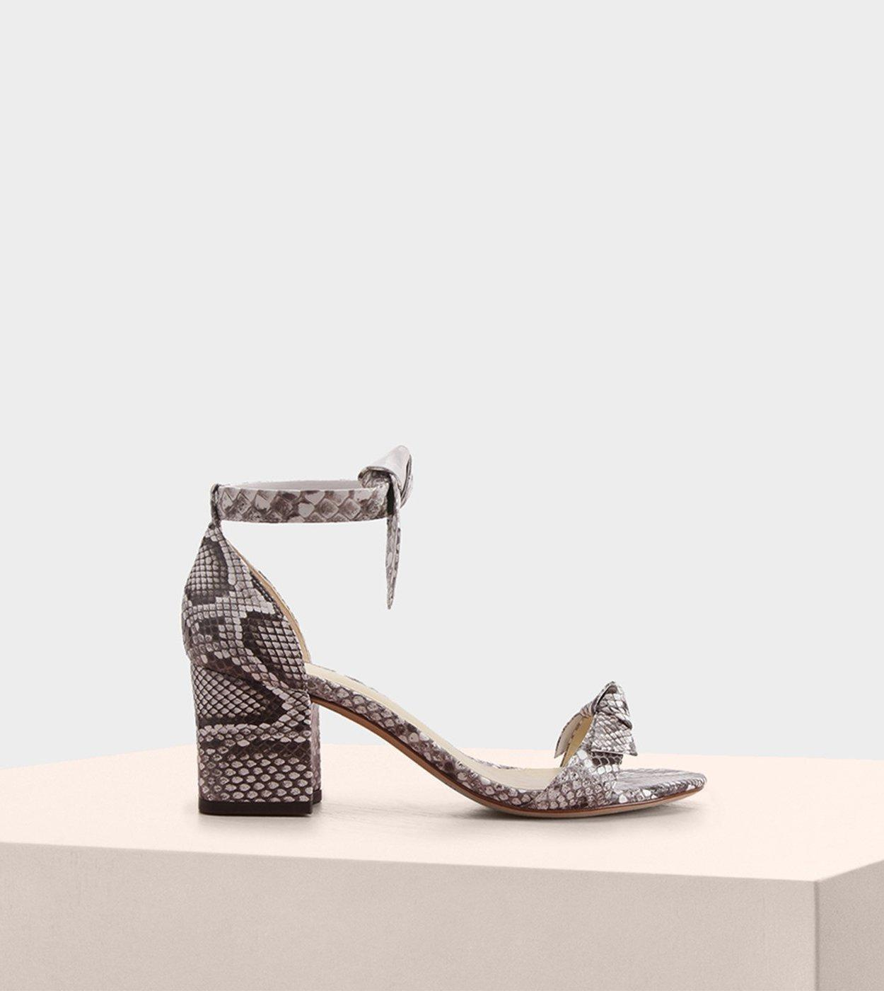 d05cbcb55698 Lyst - Alexandre Birman Clarita Block 60 Exotic Sandal in Natural