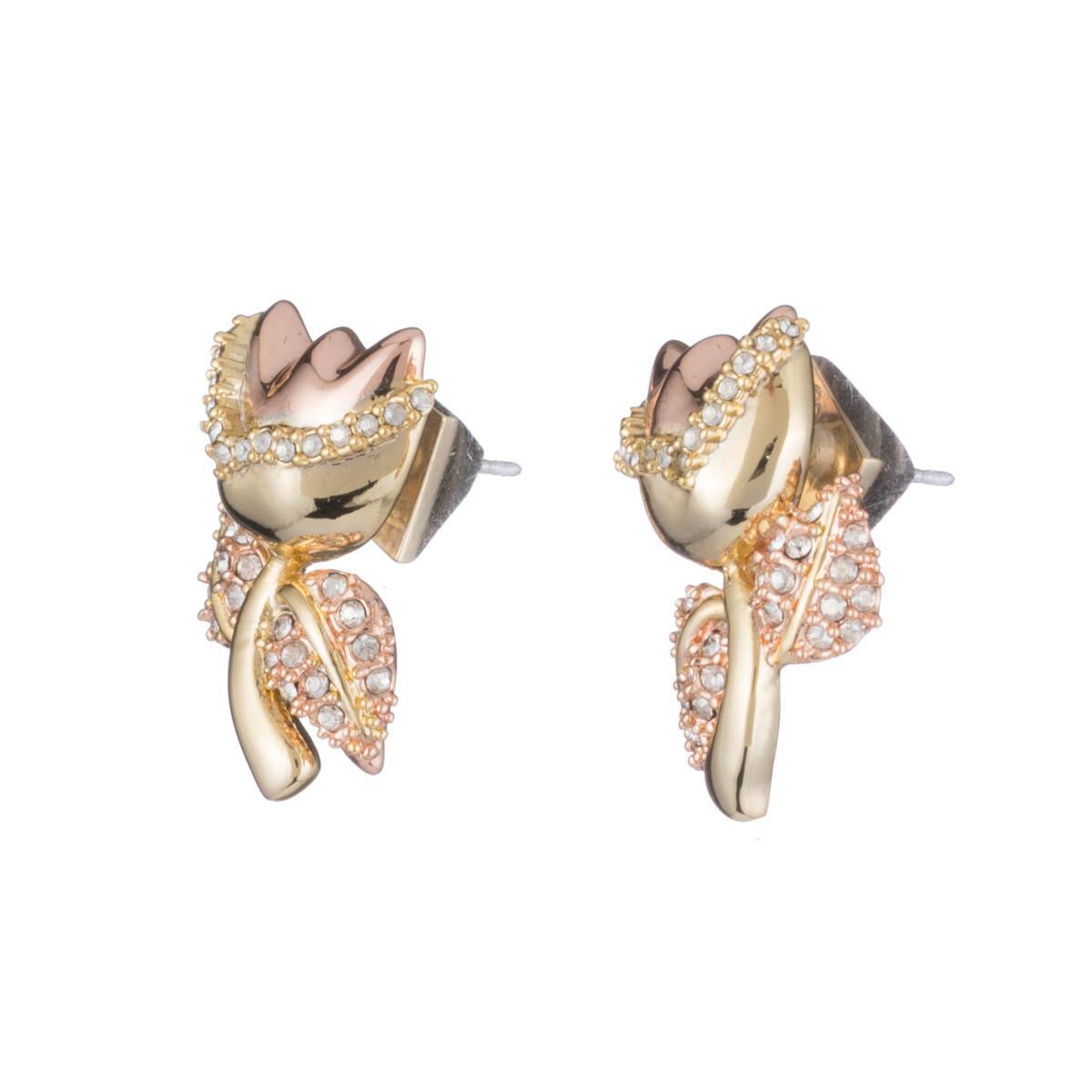 Alexis Bittar Crystal Encrusted Tulip Post Earrings tSIAZpK6P