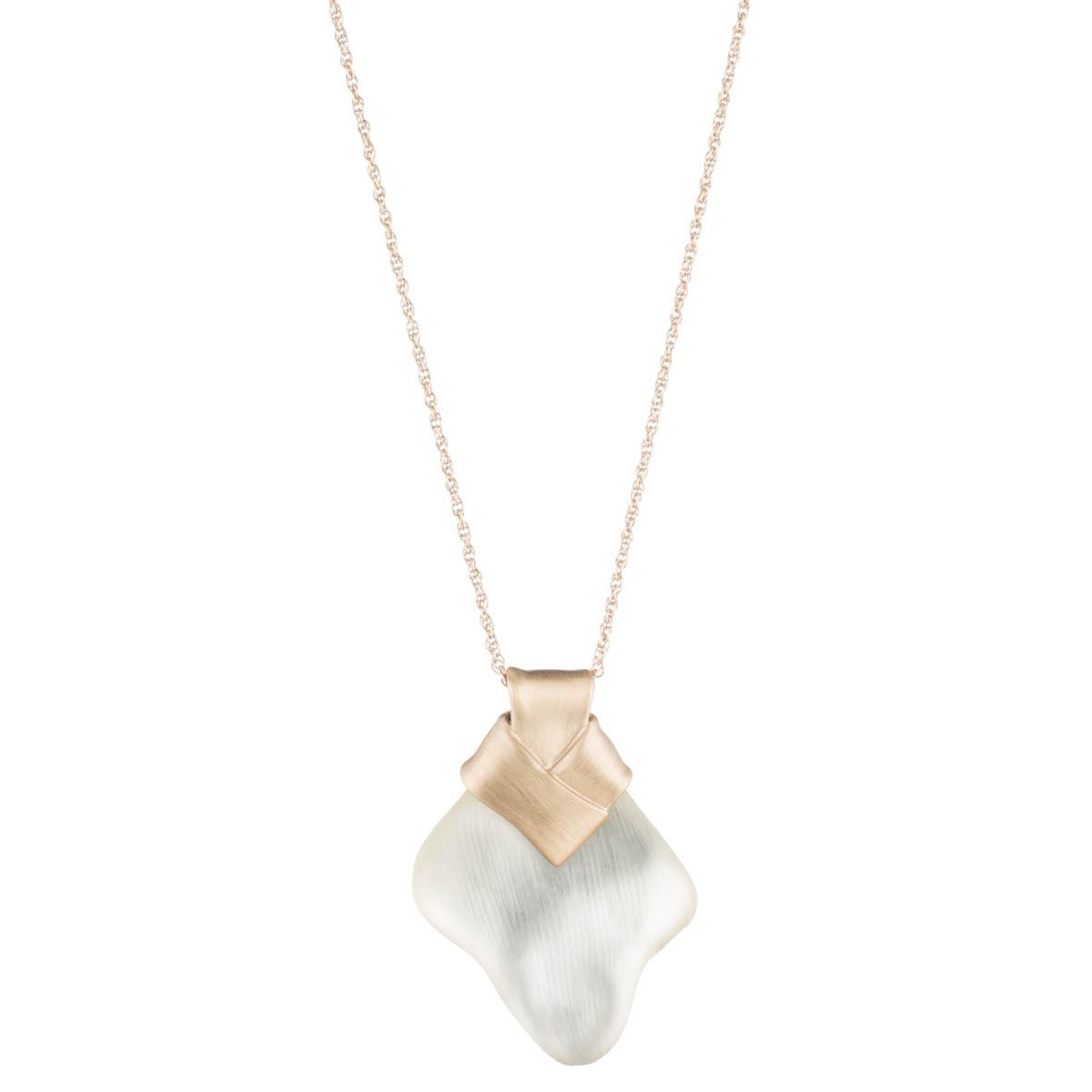 Alexis Bittar Folded Knot Reversible Necklace xIFDL