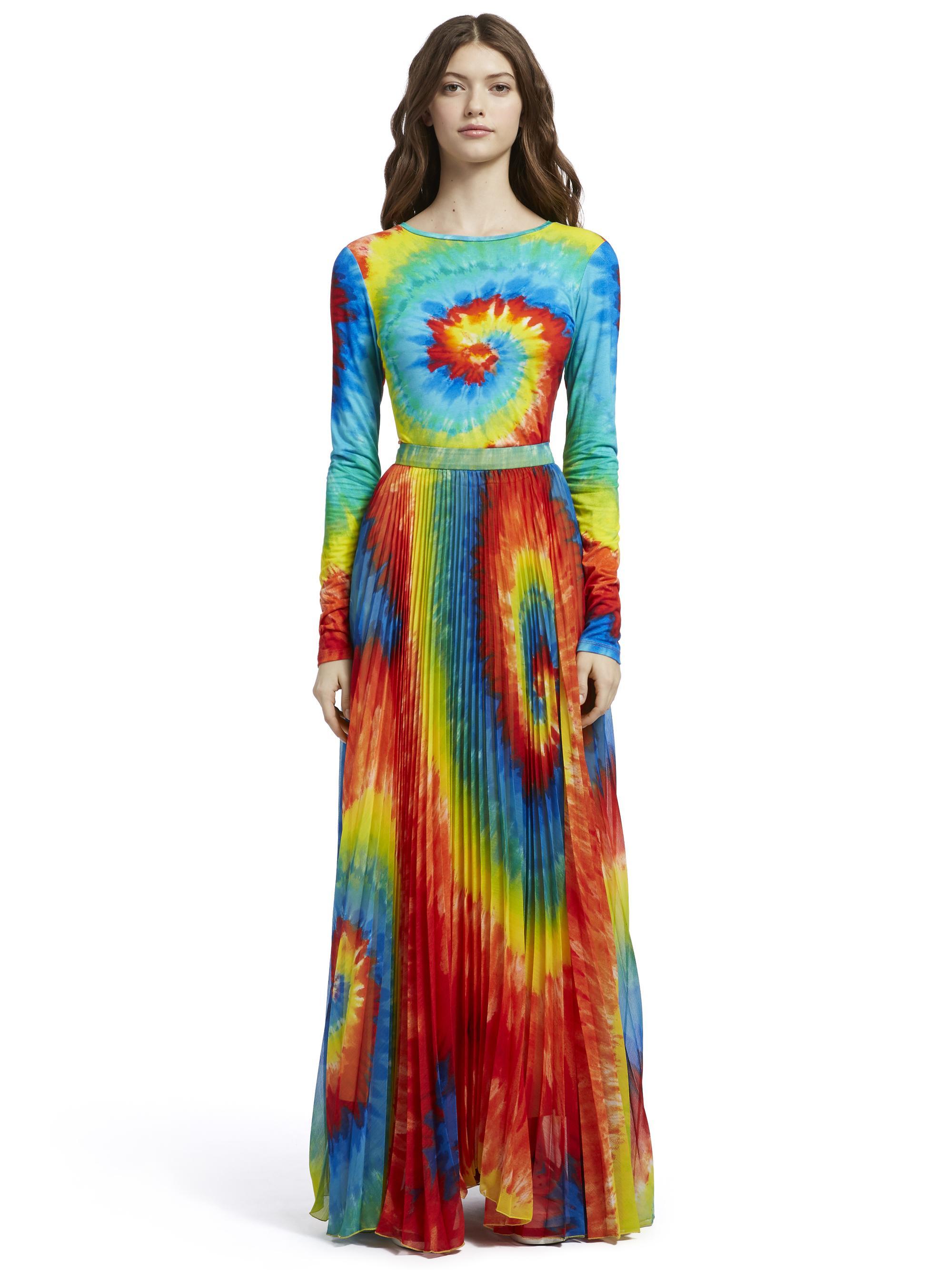 5d6473e39c68d Alice + Olivia. Women s Delaina Tie Dye Crop Top