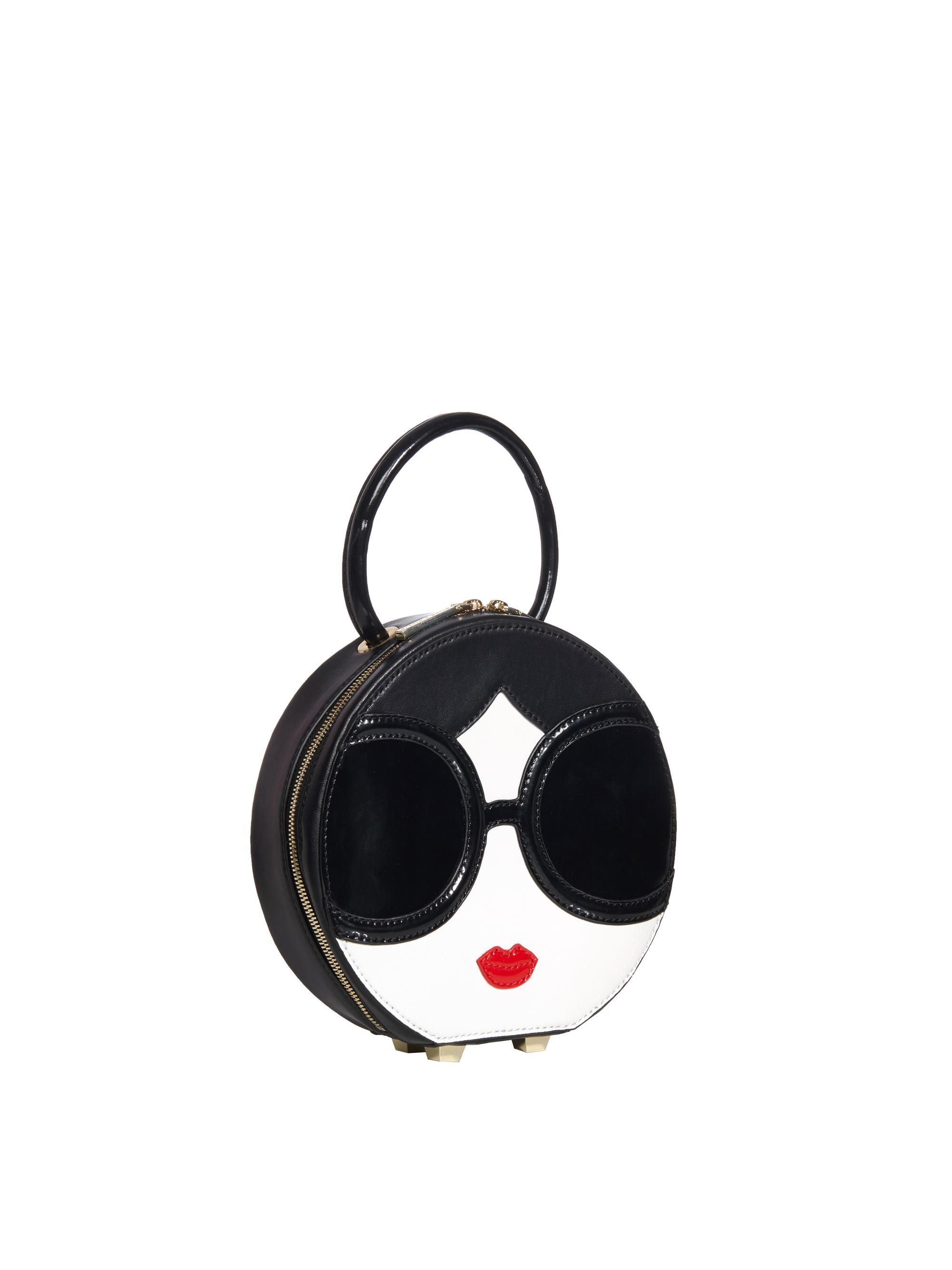 Cheap Sale Pay With Paypal Stace Face Circular Coin Pouch Alice & Olivia Free Shipping Discount Footaction Cheap Low Shipping 1OcWXls