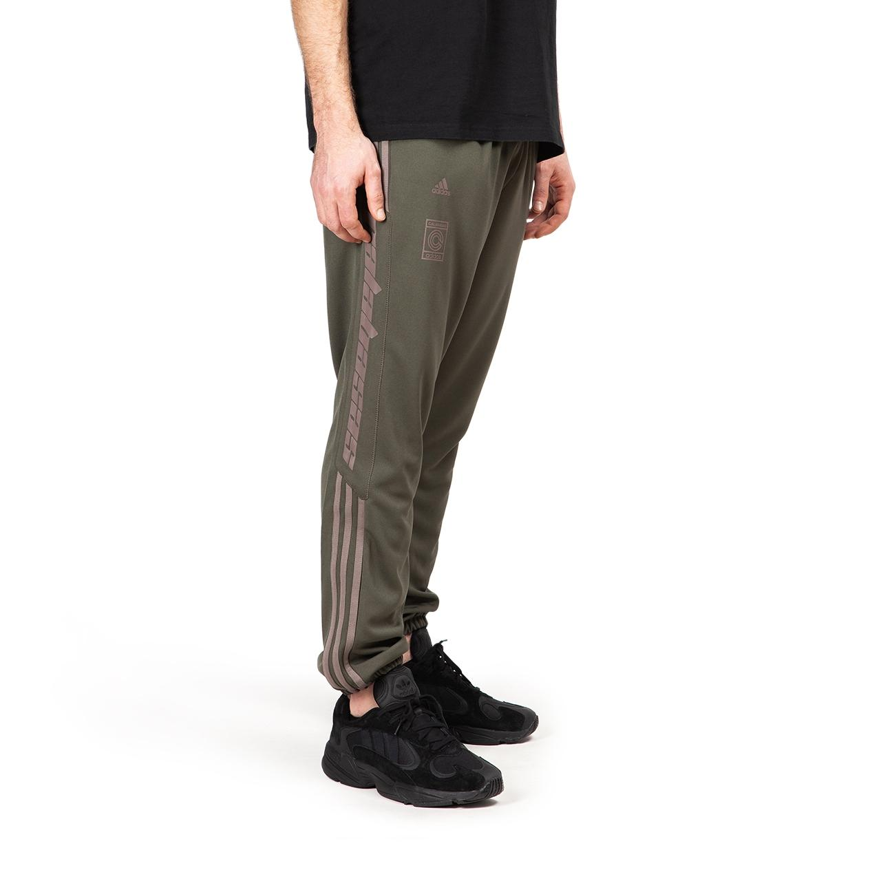 Adidas Beckenbauer Olive Green Track Pants