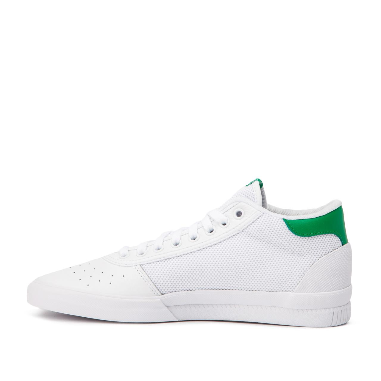 adidas Originals Leather Adidas Lucas Premiere Mid in White for Men