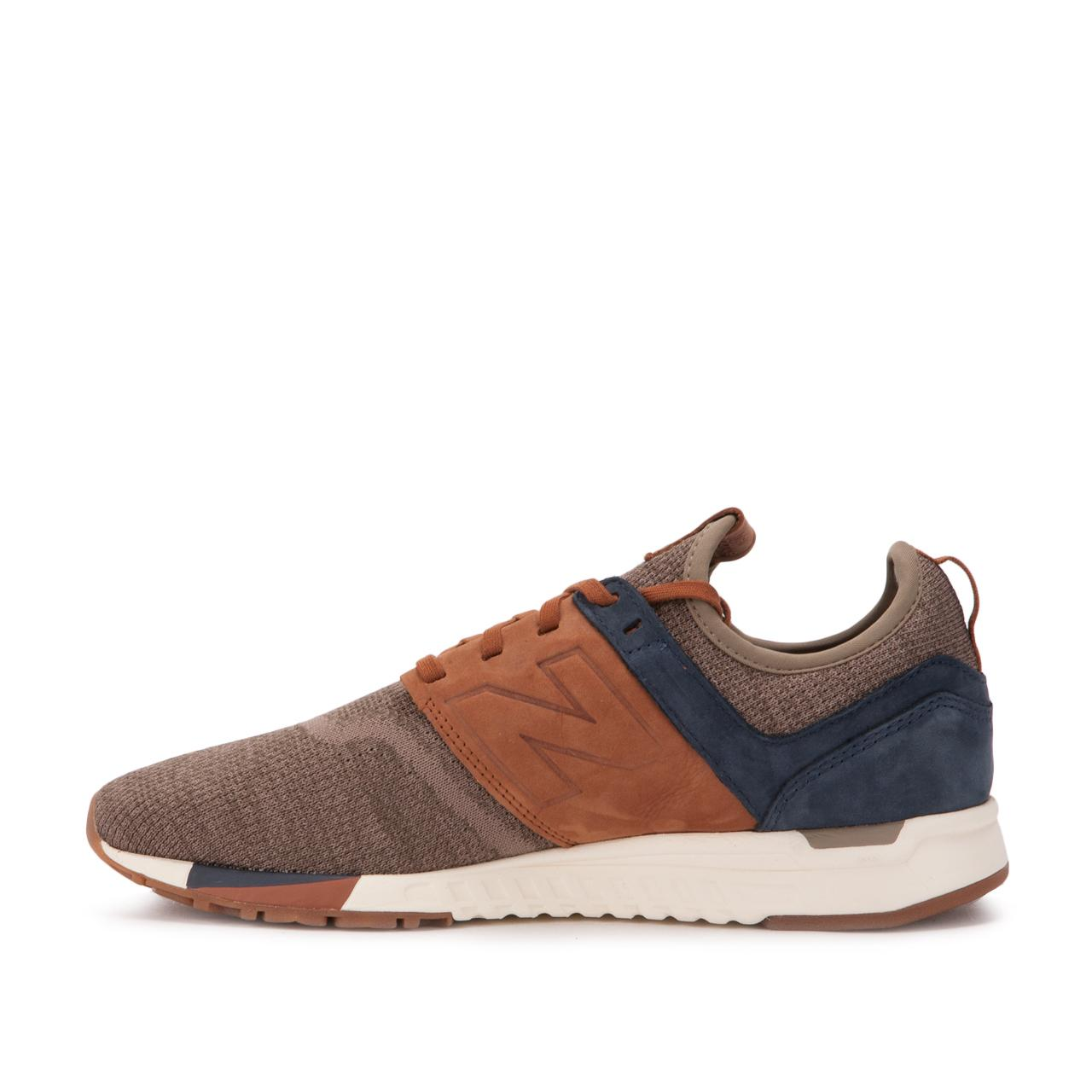 New Balance Suede Mrl 247 Lb in Brown