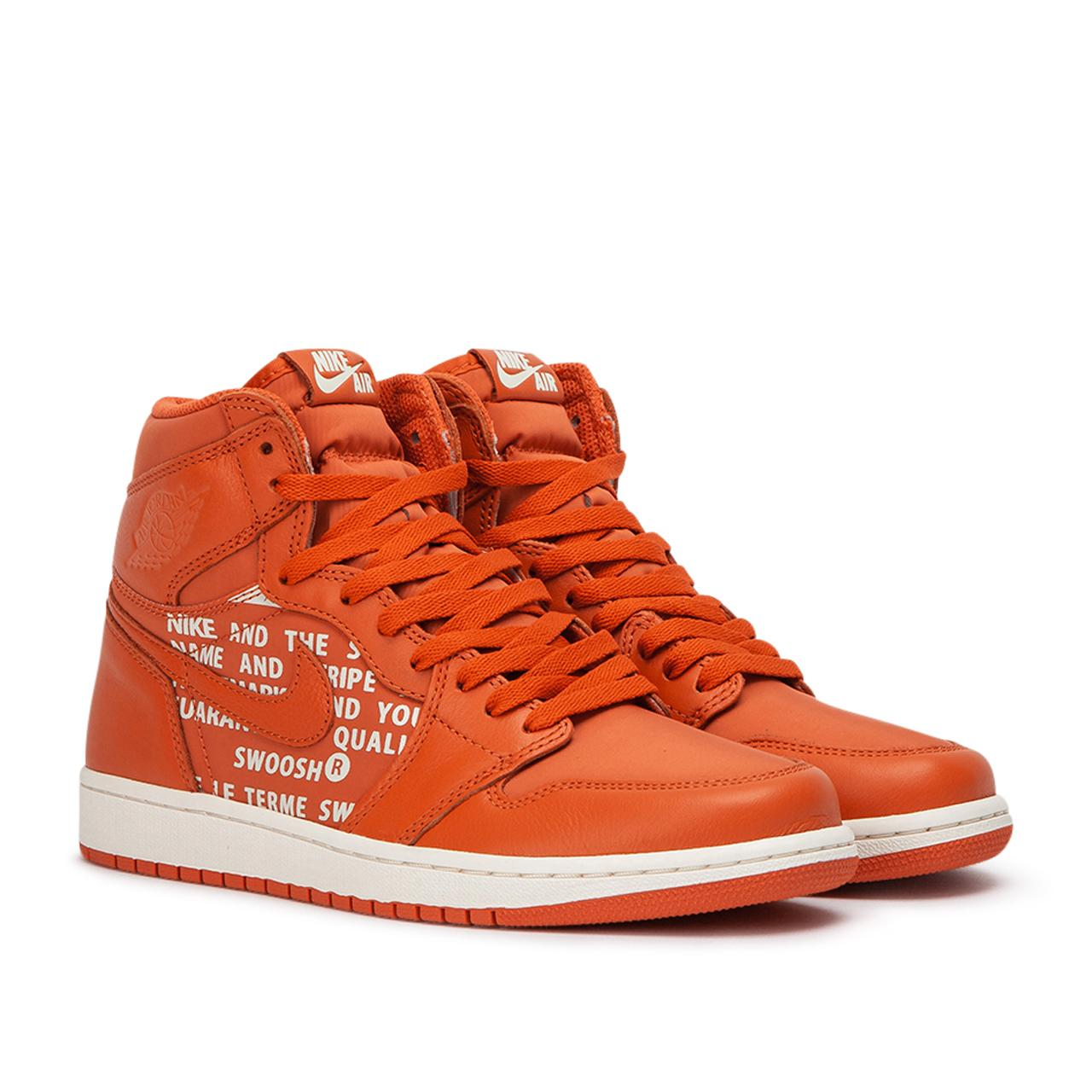 Nike Leather Air Jordan 1 Retro High Og