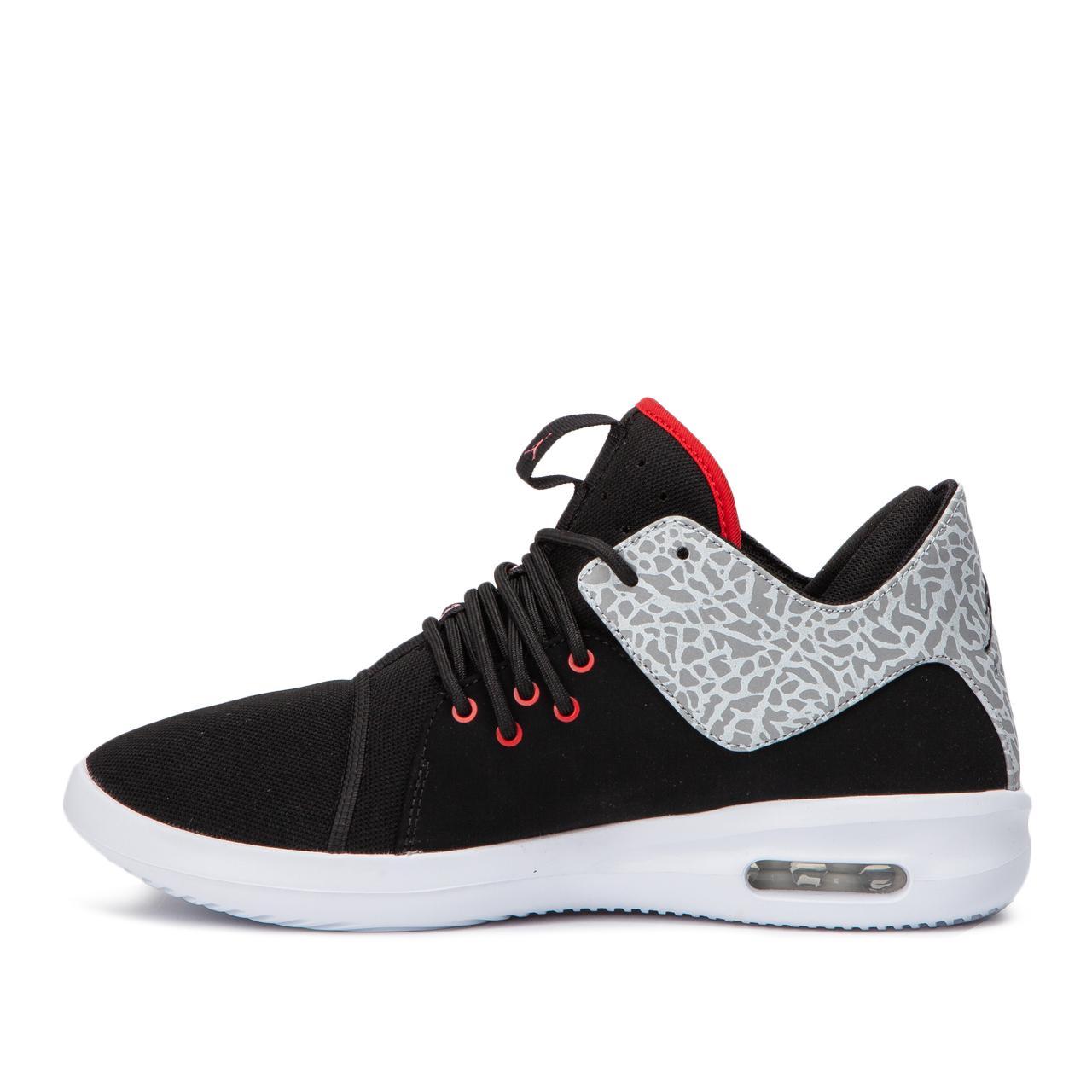 Nike Leather Nike Air Jordan First Class in Black for Men - Lyst