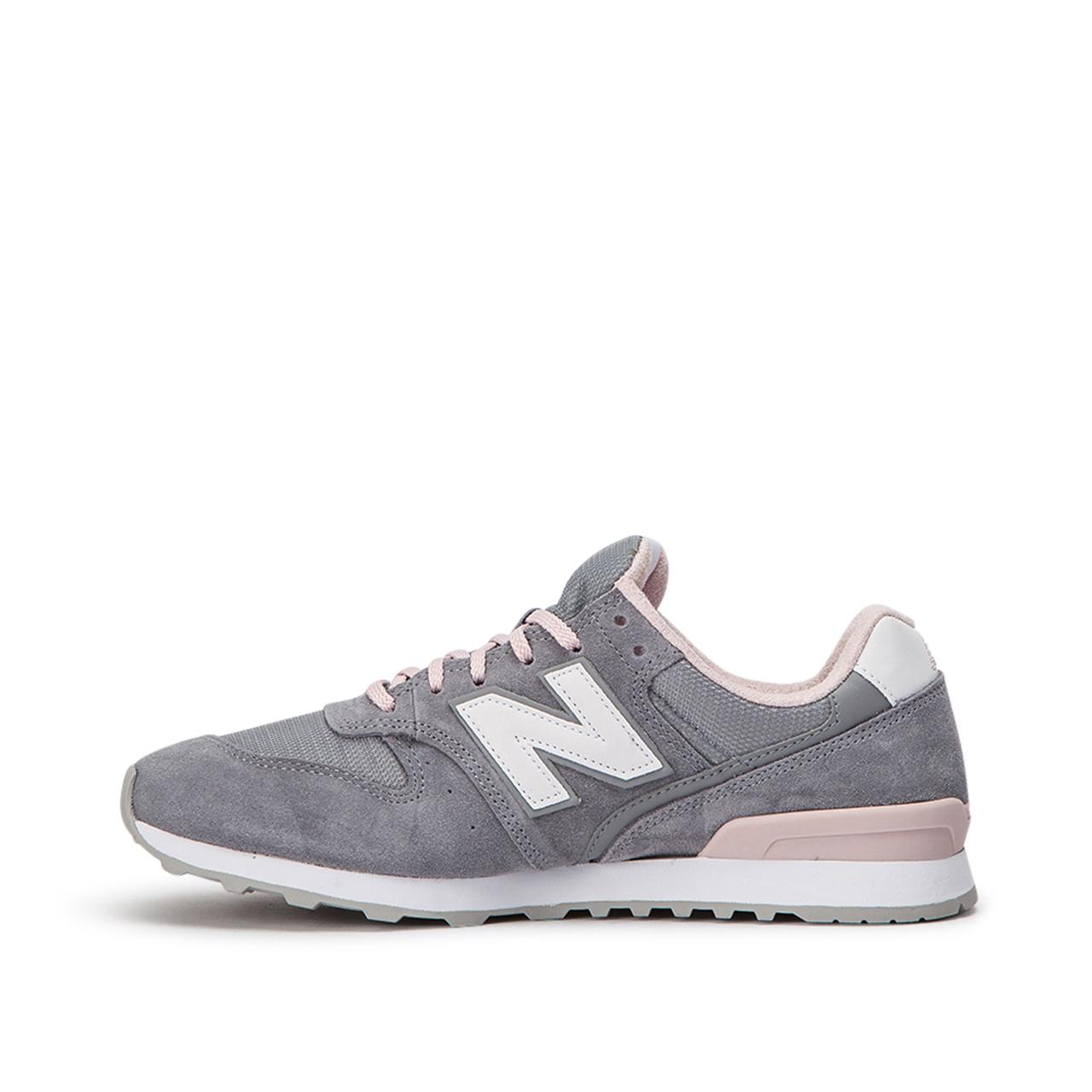 New Balance Leather Wr996 Acg in Grey