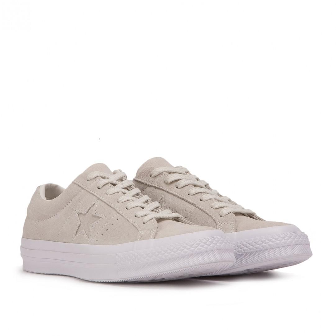 Converse One Star Ox Suede in Beige (Natural) for Men - Lyst