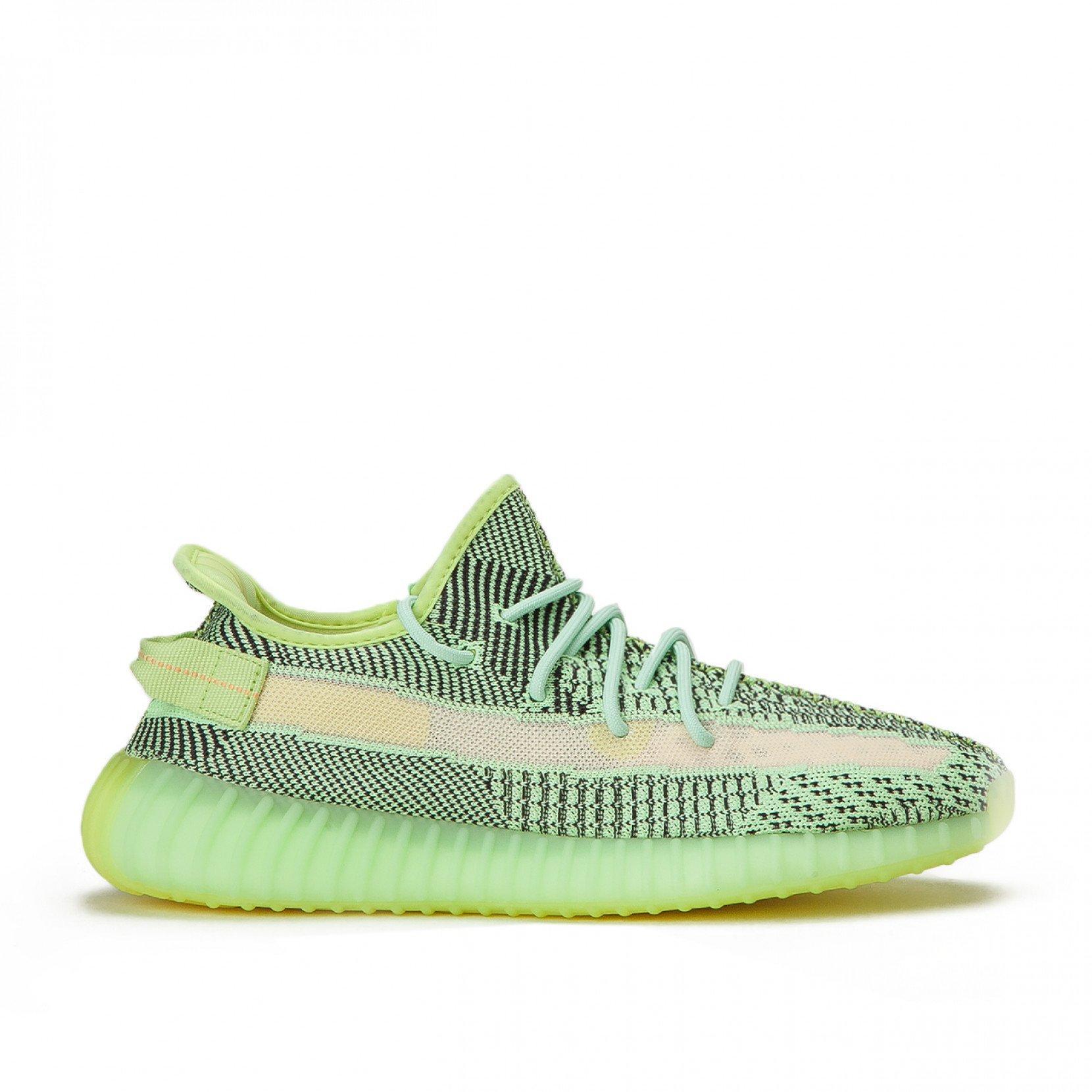 neon yellow yeezys