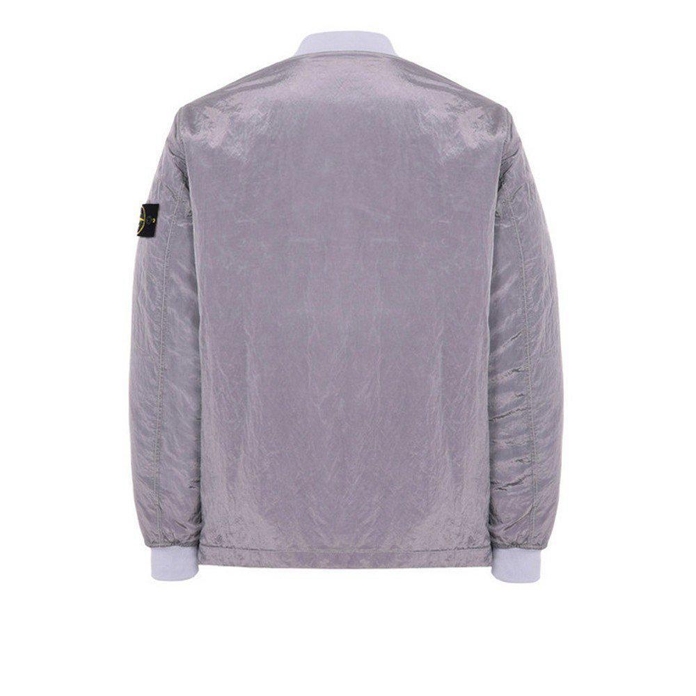 Stone Island Synthetic Nylon Metal Reversibile Jacket in Purple for Men