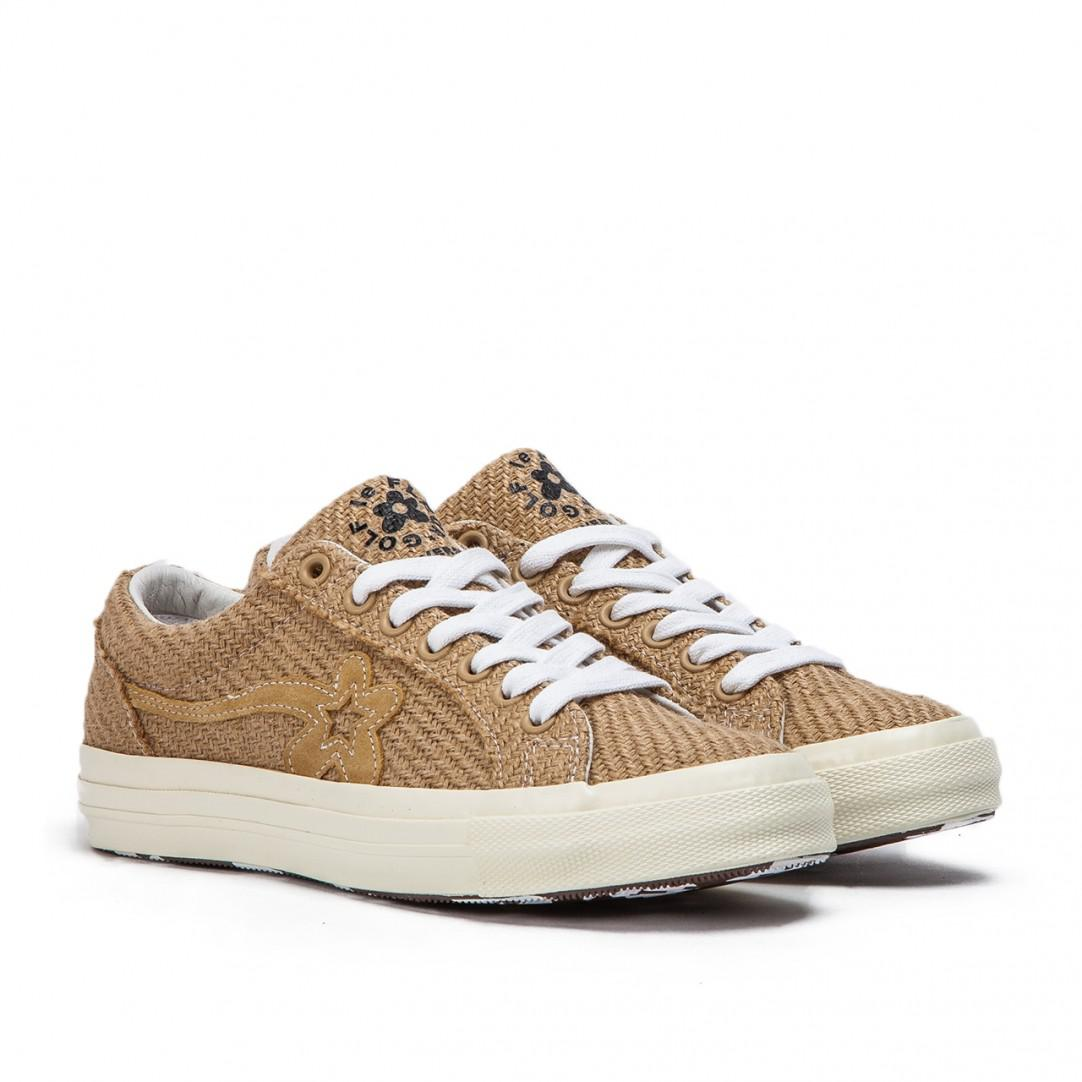 Converse X Golf Le Fleur One Star Ox In Brown For Men Lyst
