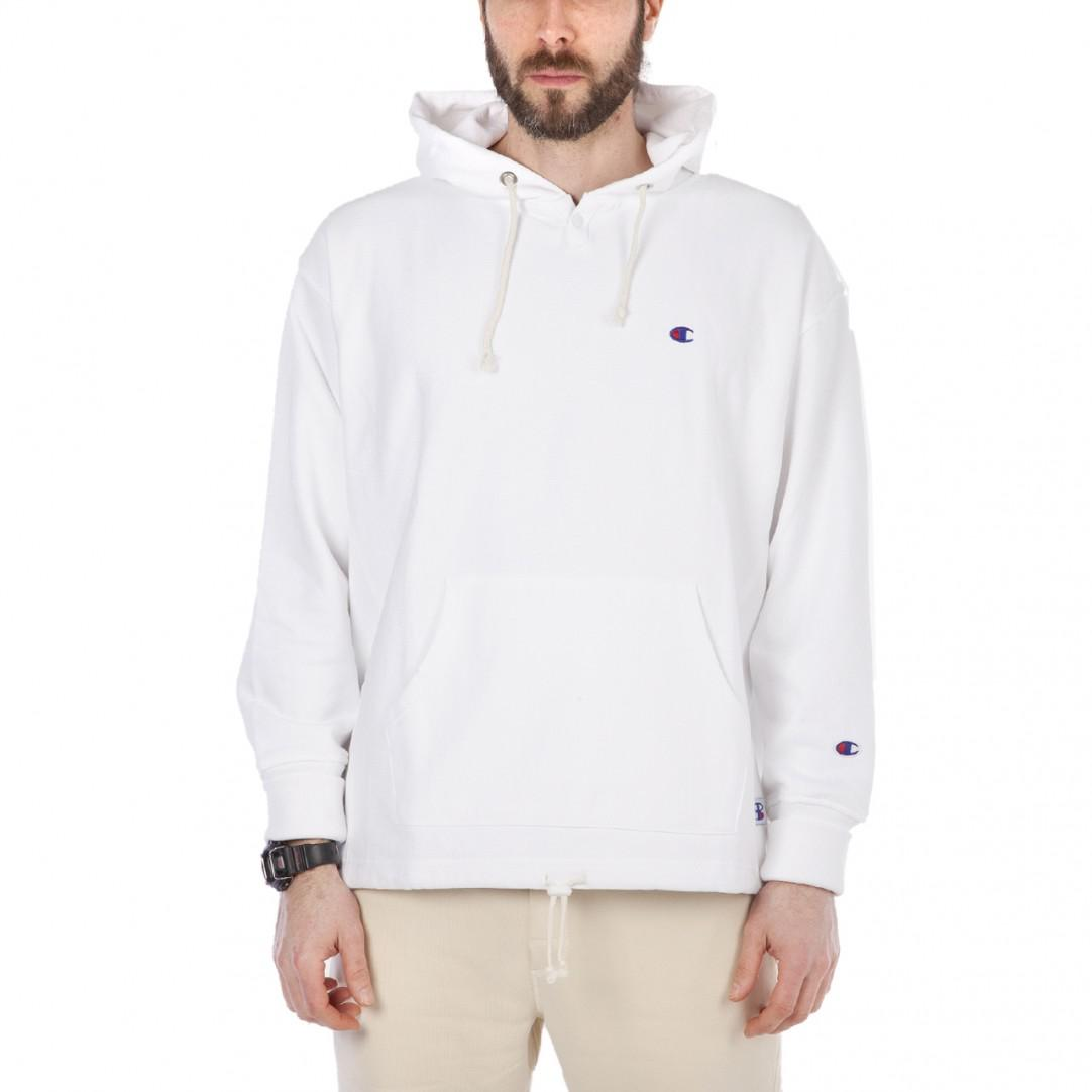 757f0f3c1516 Champion Reverse Weave White Mens Hoodie in White for Men - Lyst