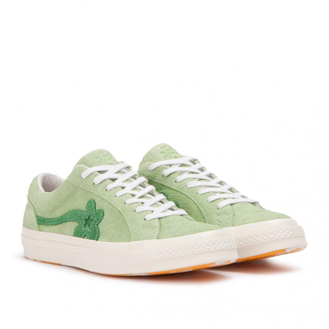 Versace Purple & Green GOLF le FLEUR* Edition GOLF 6.1 One Star Sneakers uHszVg7