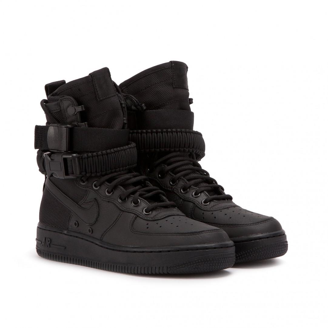 watch 09049 f0796 Nike Leather Nike Wmns Sf Air Force 1 Hi