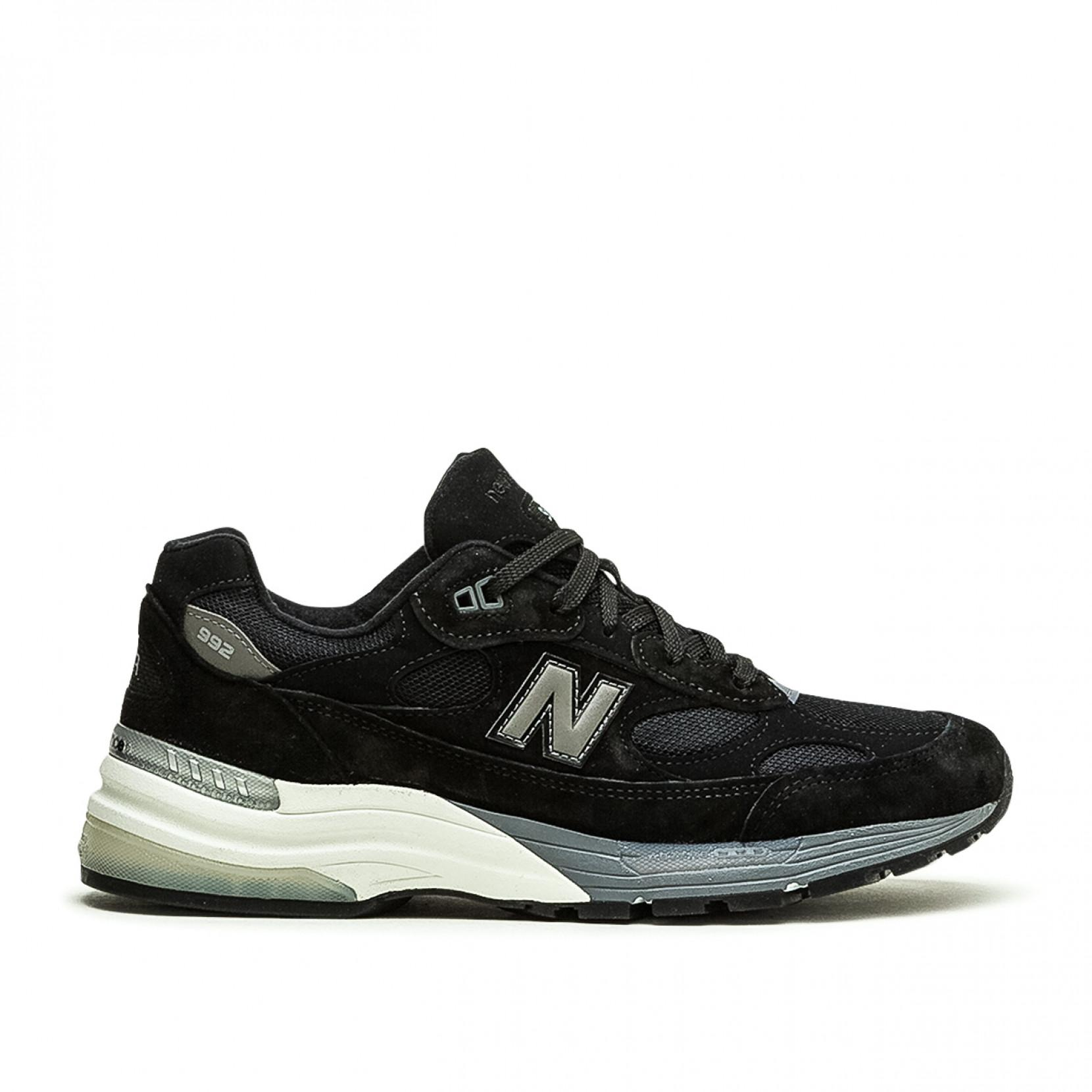 New Balance Suede 992 in Black/Grey (Black) for Men - Save 70% - Lyst