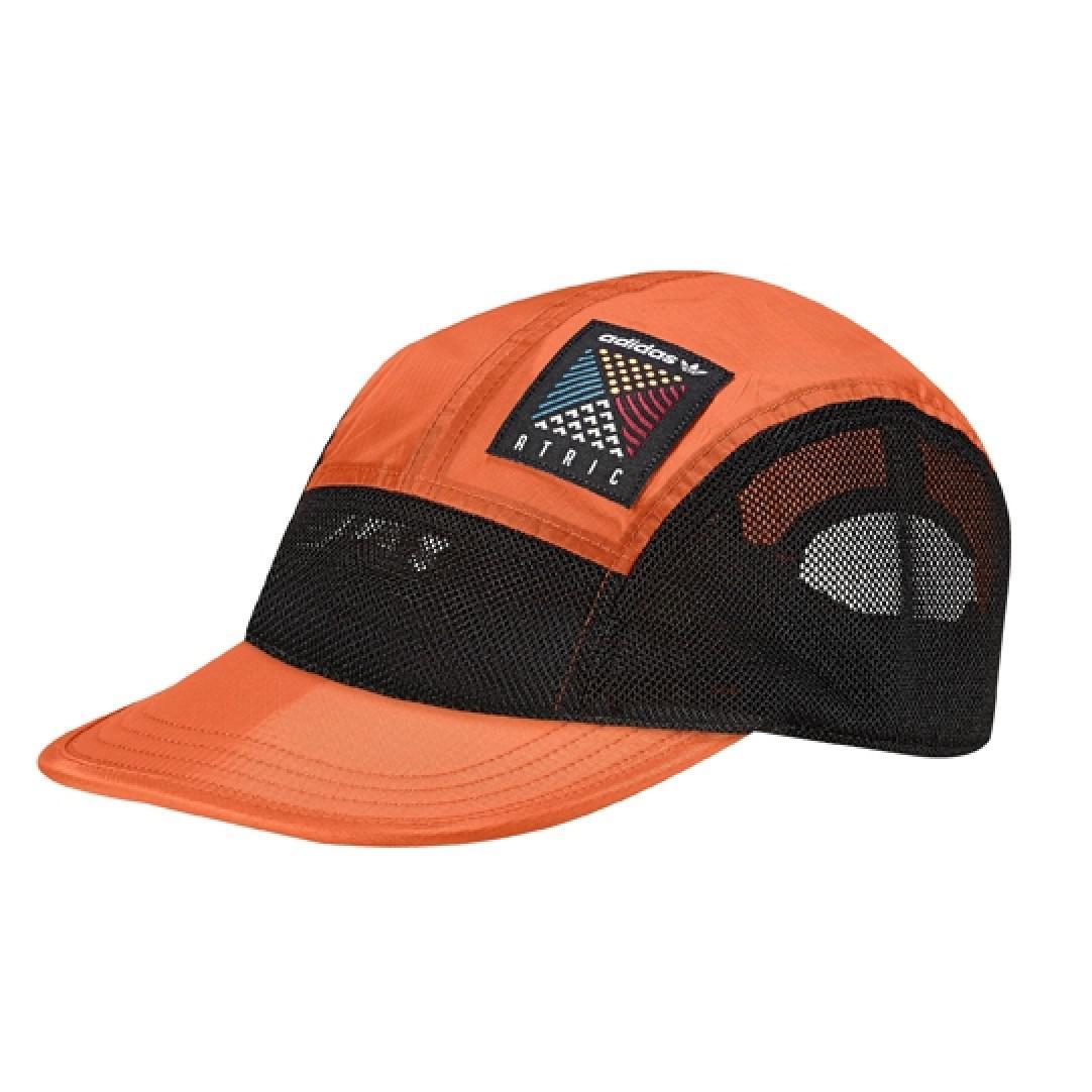 adidas Atric 5 Panel Cap in Orange for Men - Save 39.285714285714285 ... 5e2b5a6d9c20