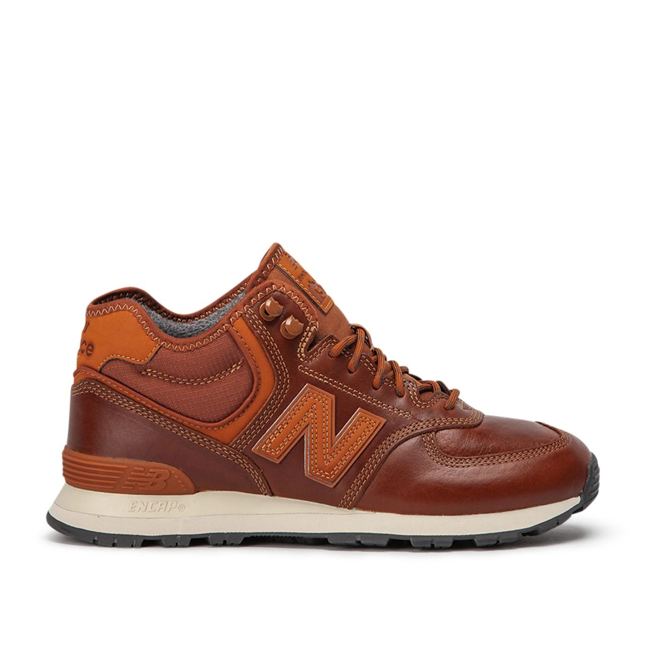 New Balance Leather Mh574 Oad in Brown for Men - Lyst